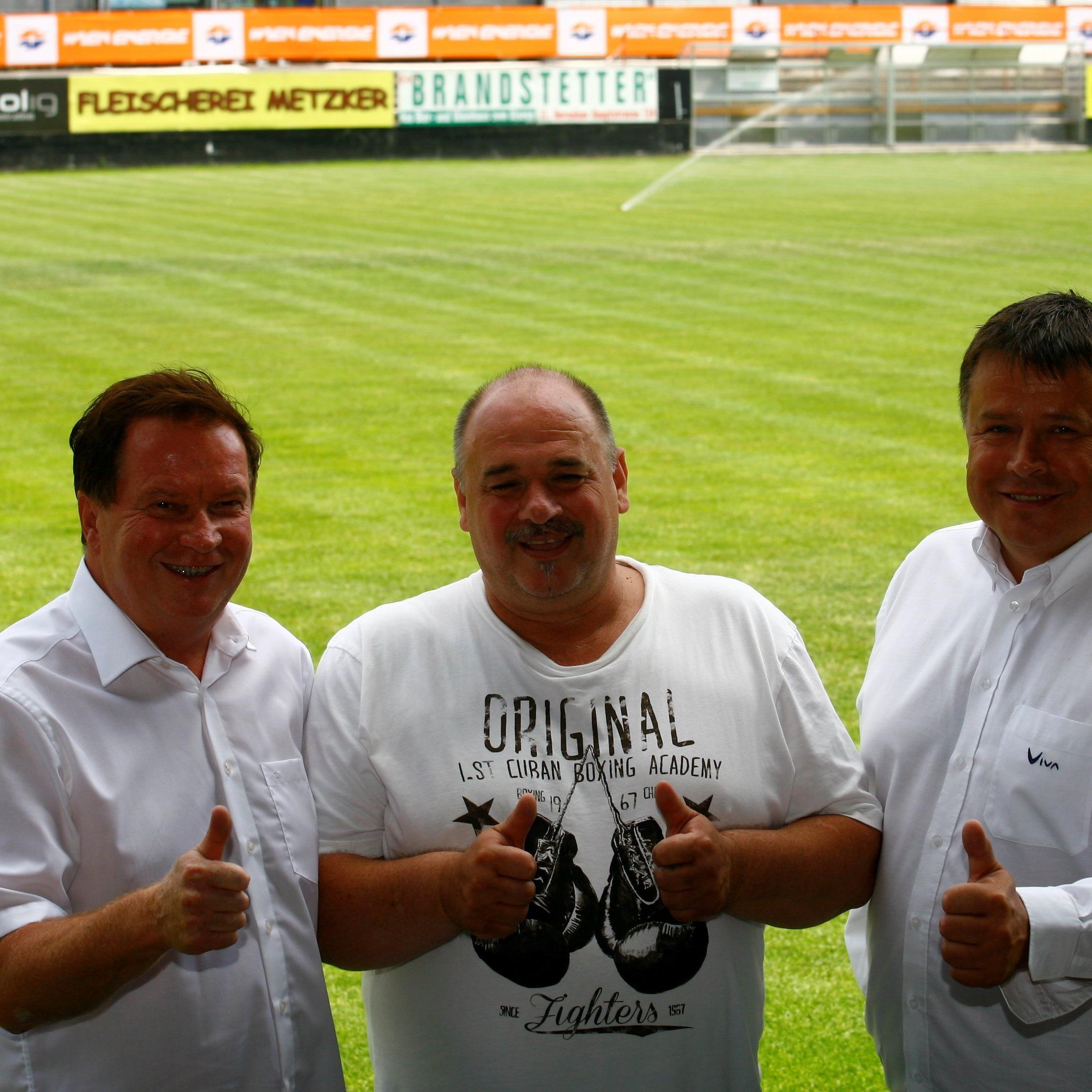 Neu formierte sportliche Leitung des Wiener Sportklub