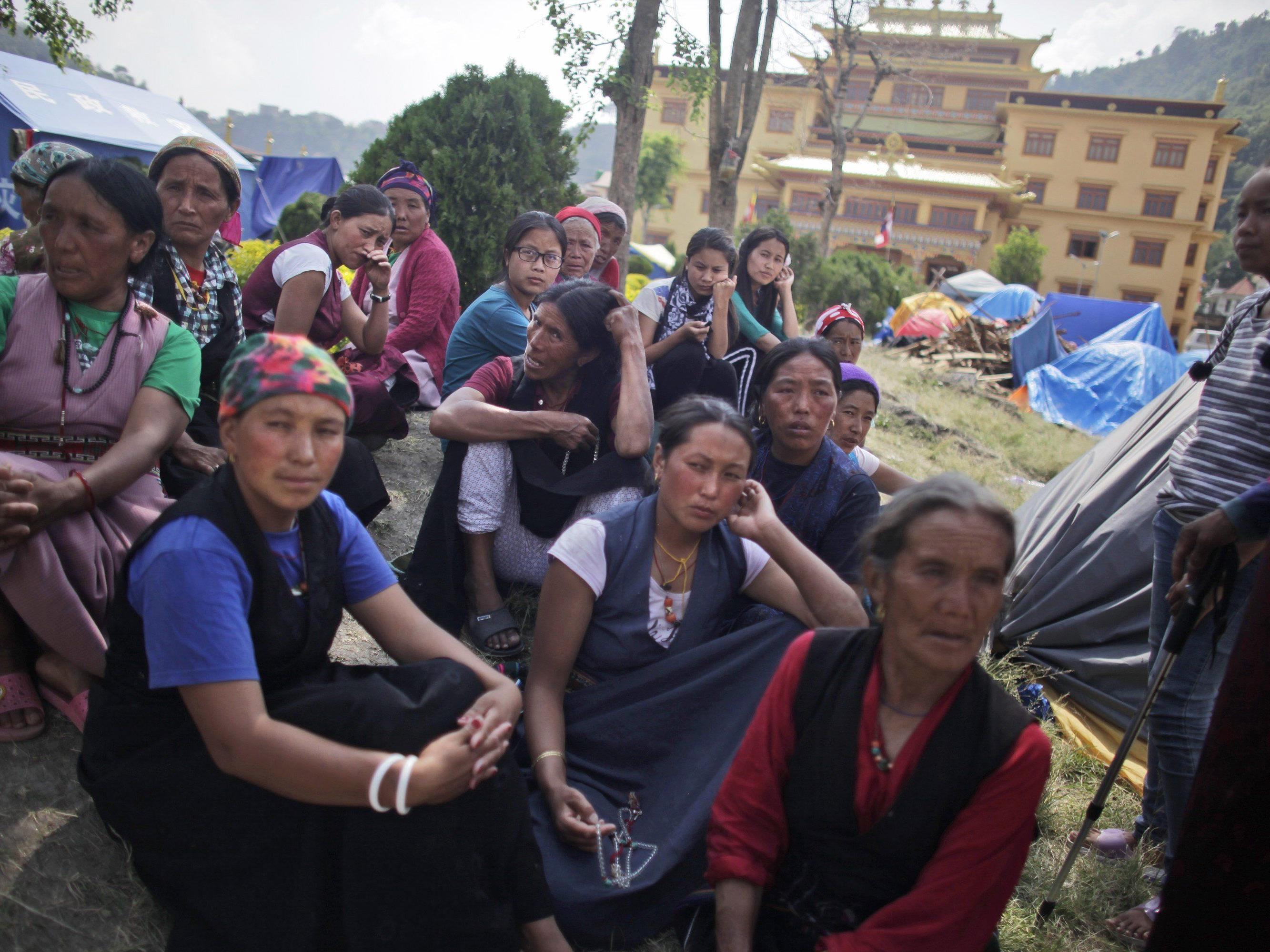In Nepal sind die Opfer des Erdbebens weiterhin dringend auf Hilfe angewiesen.