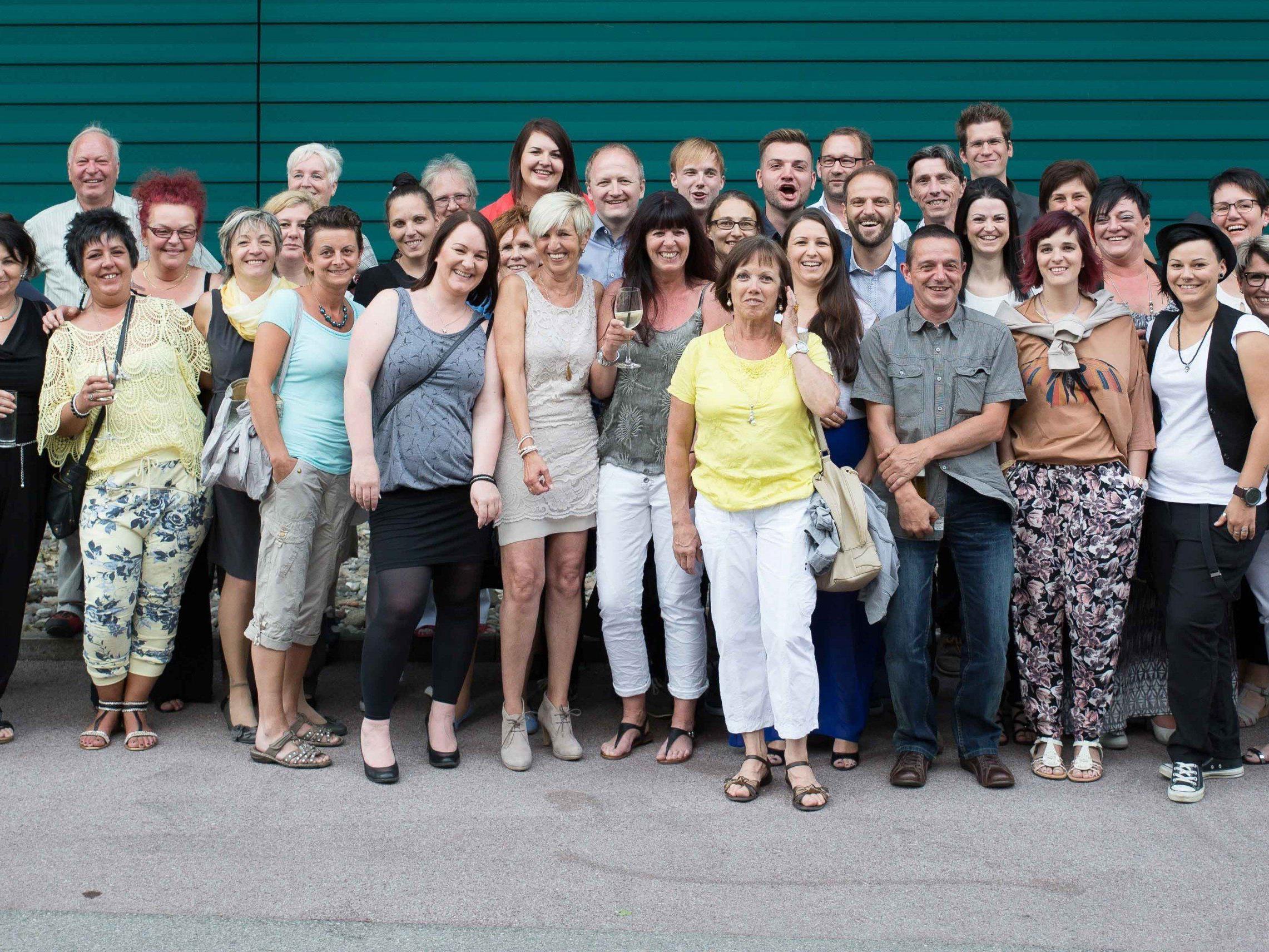 Die MitarbeiterInnen des SeneCura Sozialzentrums Bludenz unterhielten sich bestens beim alljährlichen Sommerfest.