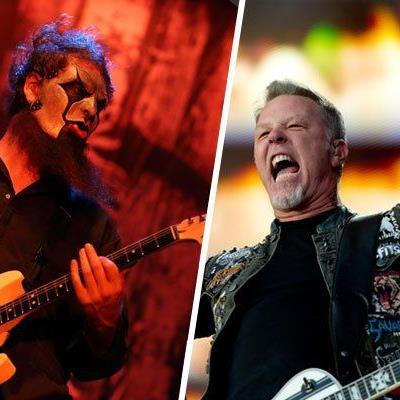 Battle of the bands: Slipknot warten am Nova Rock, Metallica beim Rock in Vienna