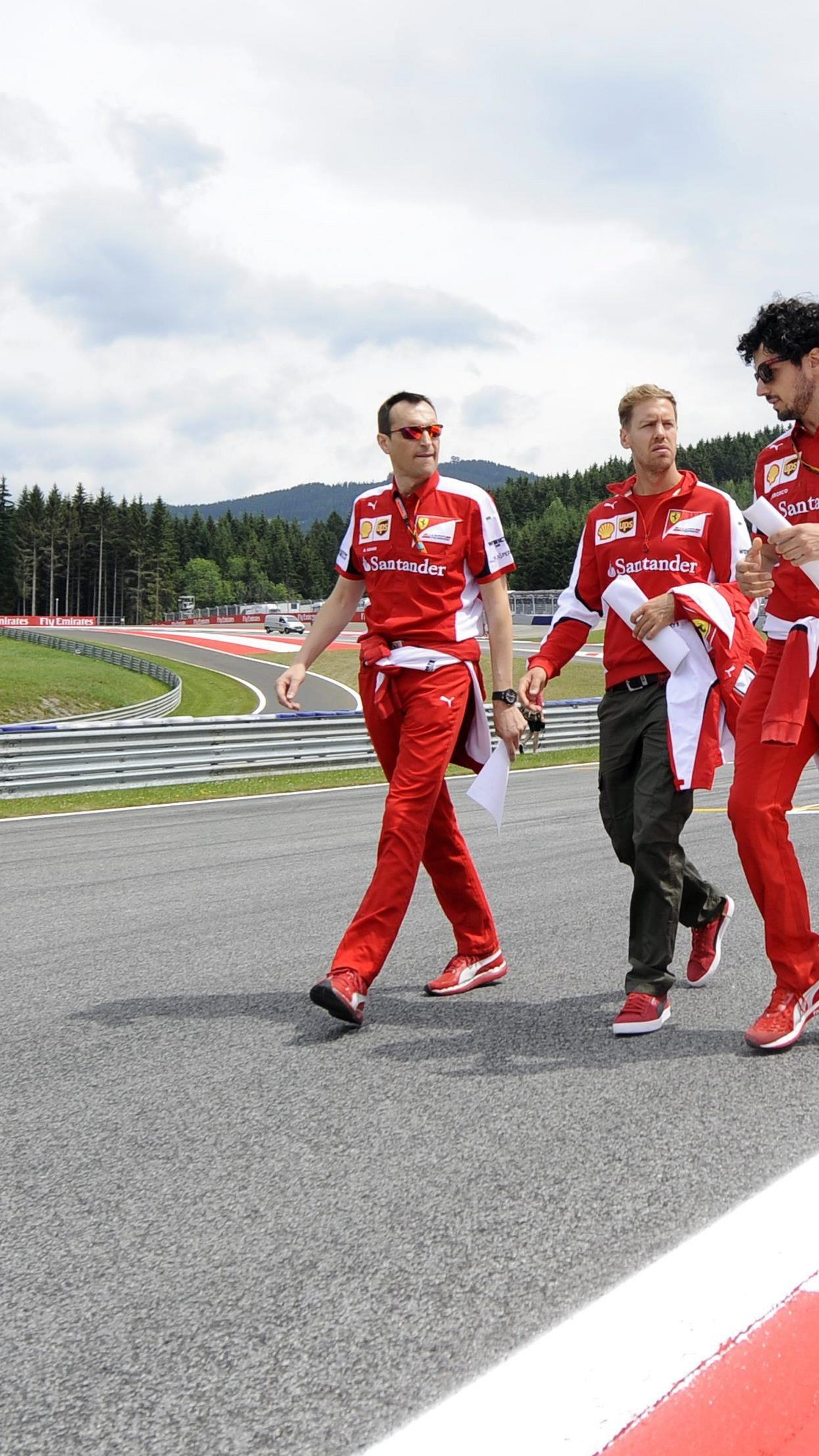 Wer tippt für den Spielberg-GP auf Vettel und Ferrari?