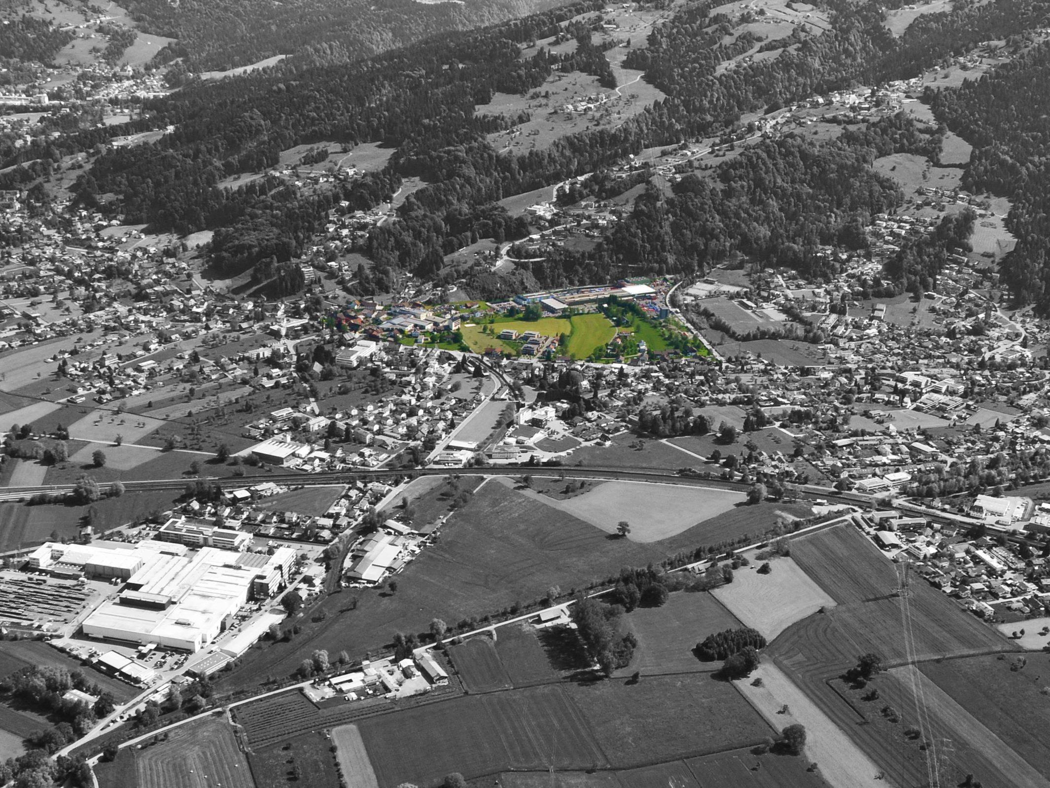 Ortsteil Wolfurt Rickenbach