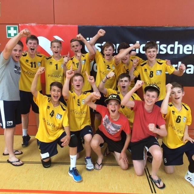 VBC Wolfurt U-15-Team ist sensationell Staatsmeister