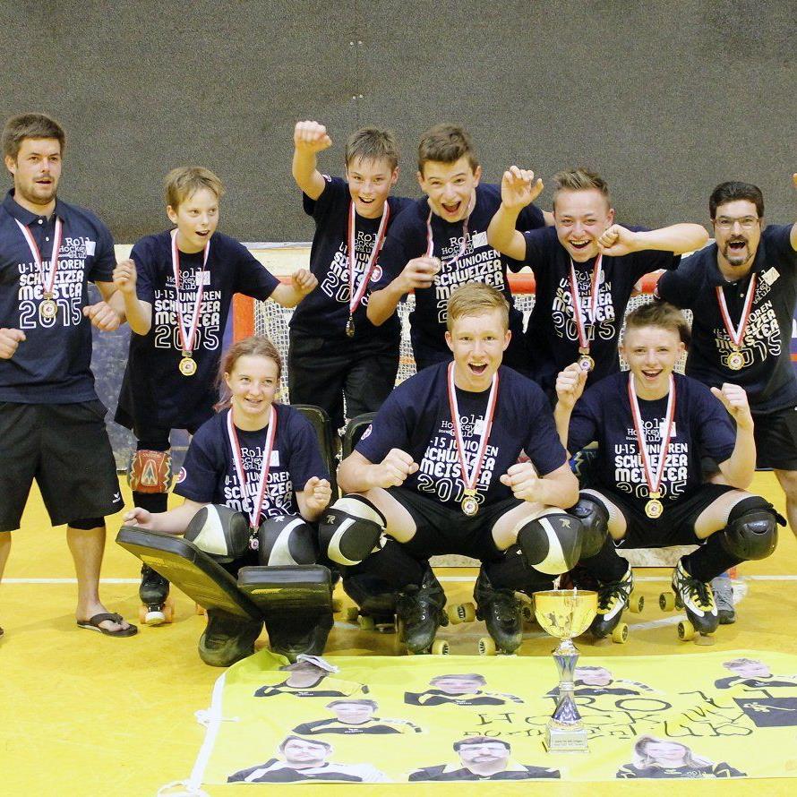 RHC Dornbirn U-15-Team wird Schweizer Meister