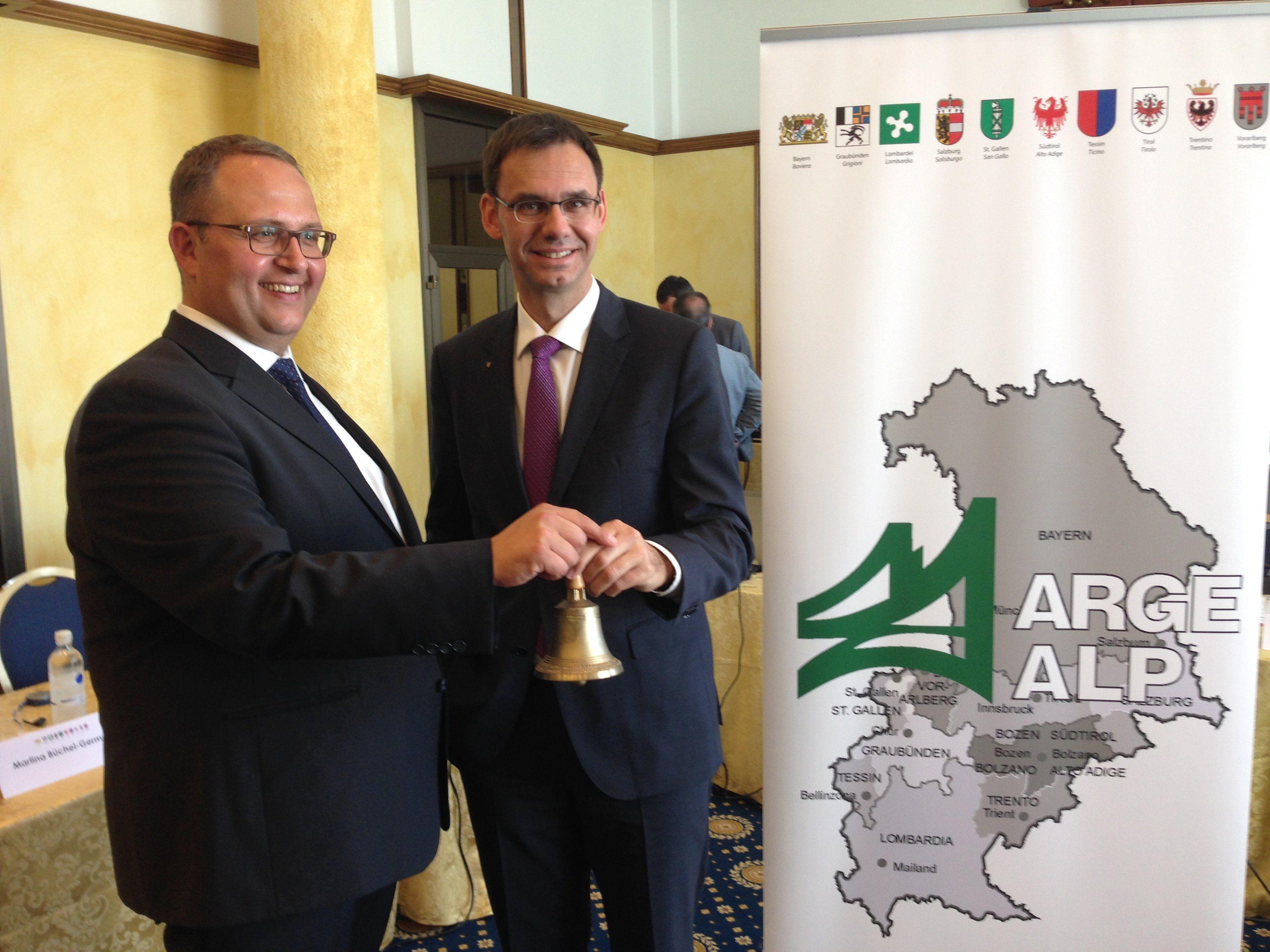 Zum vierten Mal übernimmt Vorarlberg den ARGE ALP-Vorsitz.