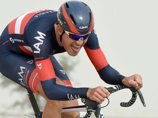 Matthias Brändle bereitet sich im Höhentraining auf Bernina auf die Tour de France Premiere vor.