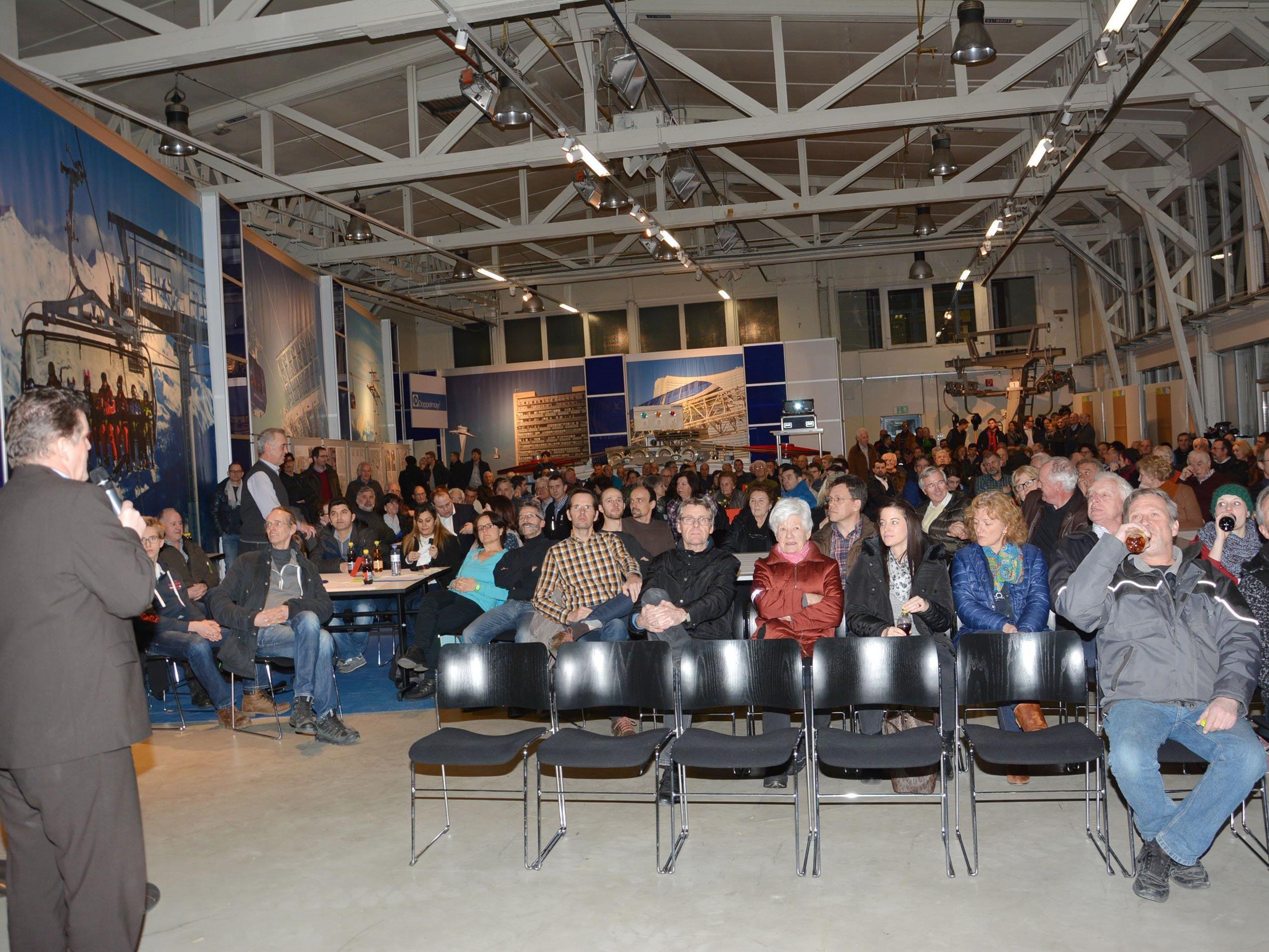 Heute sind in Rickenbach wieder die Bürgerinnen und Bürger am Wort.