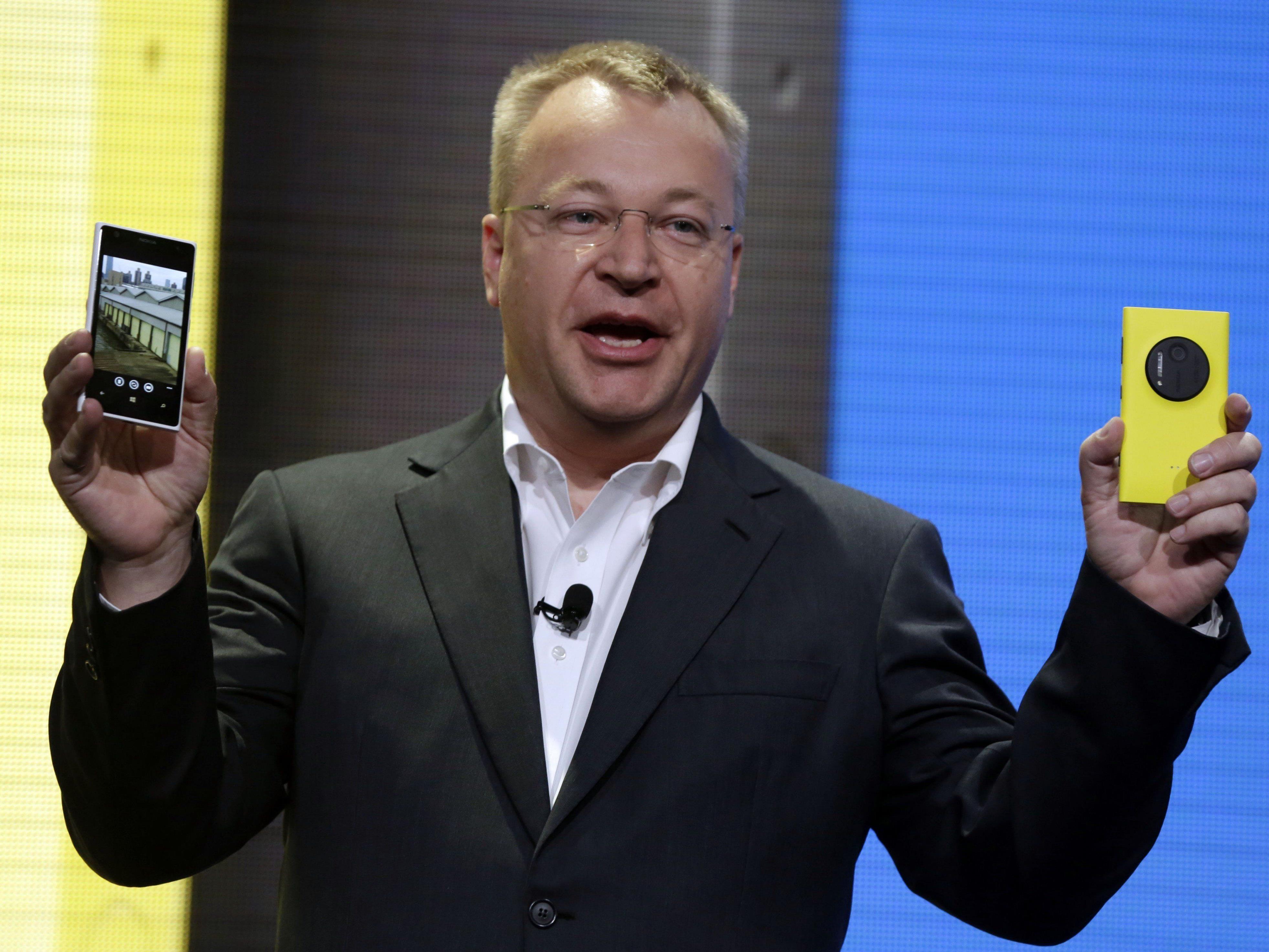 Mit Windows Phone war Elop bei Microsoft nicht sonderlich erfolgreich.