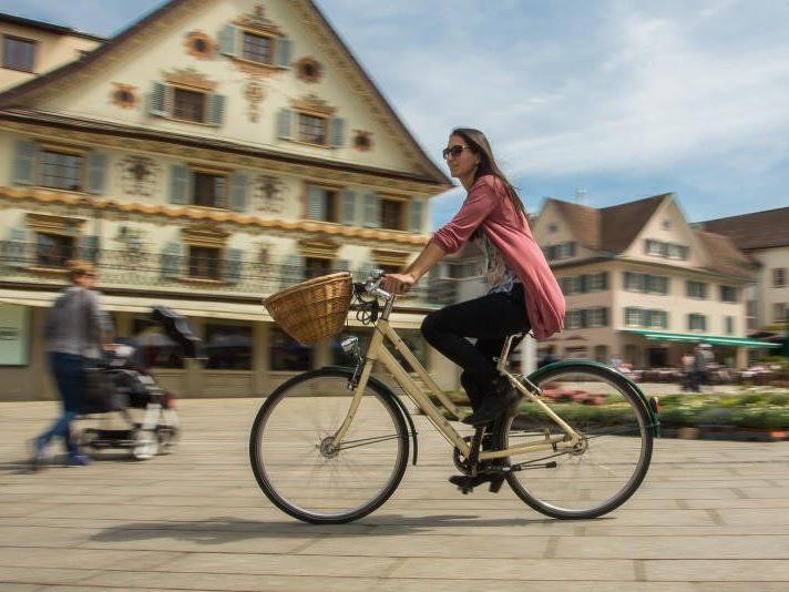 Das Fahrrad ist in Vorarlberg bereits jetzt ein beliebtes Verkehrsmittel.