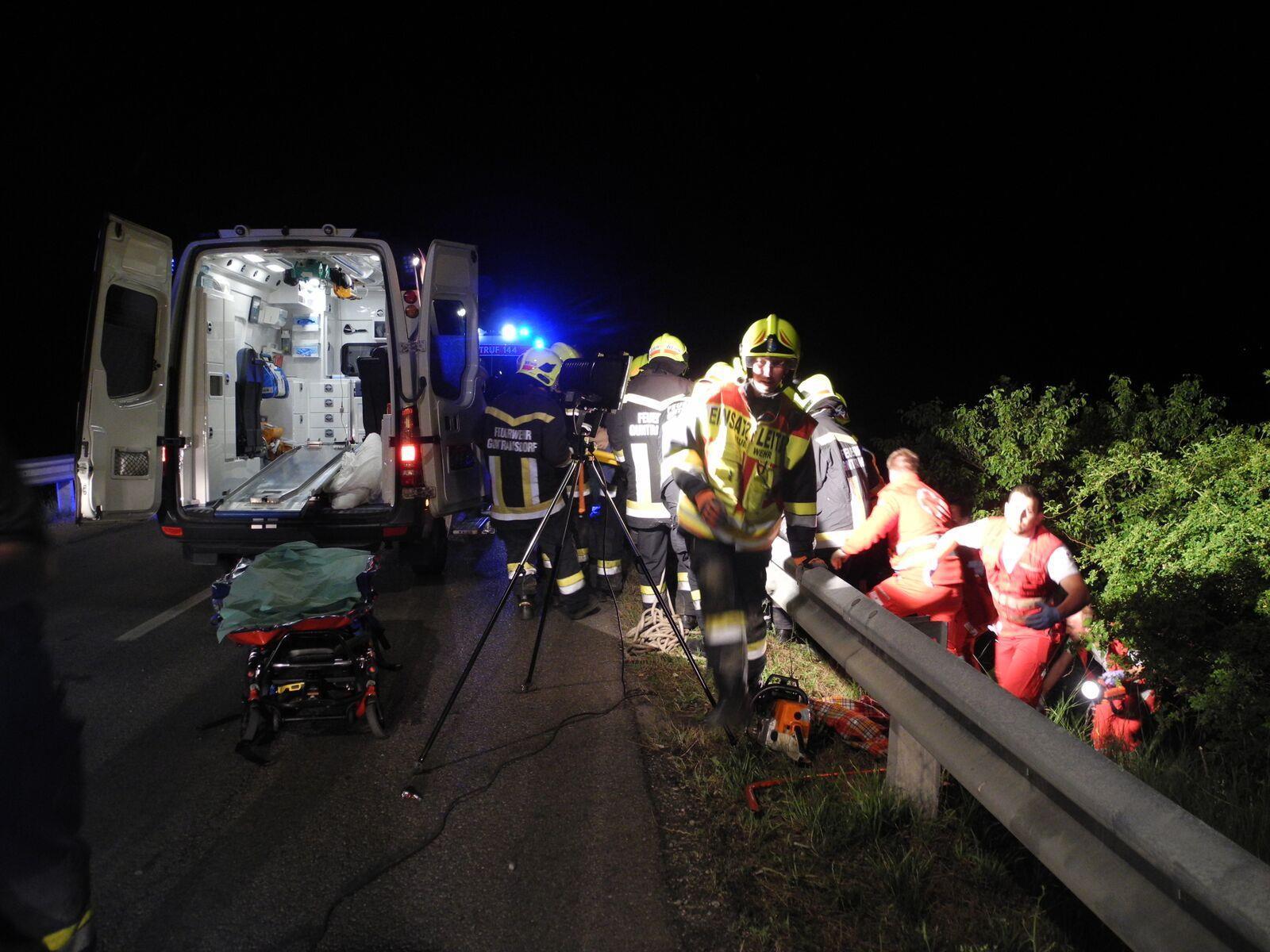 Tödlicher Motorradunfall in NÖ.