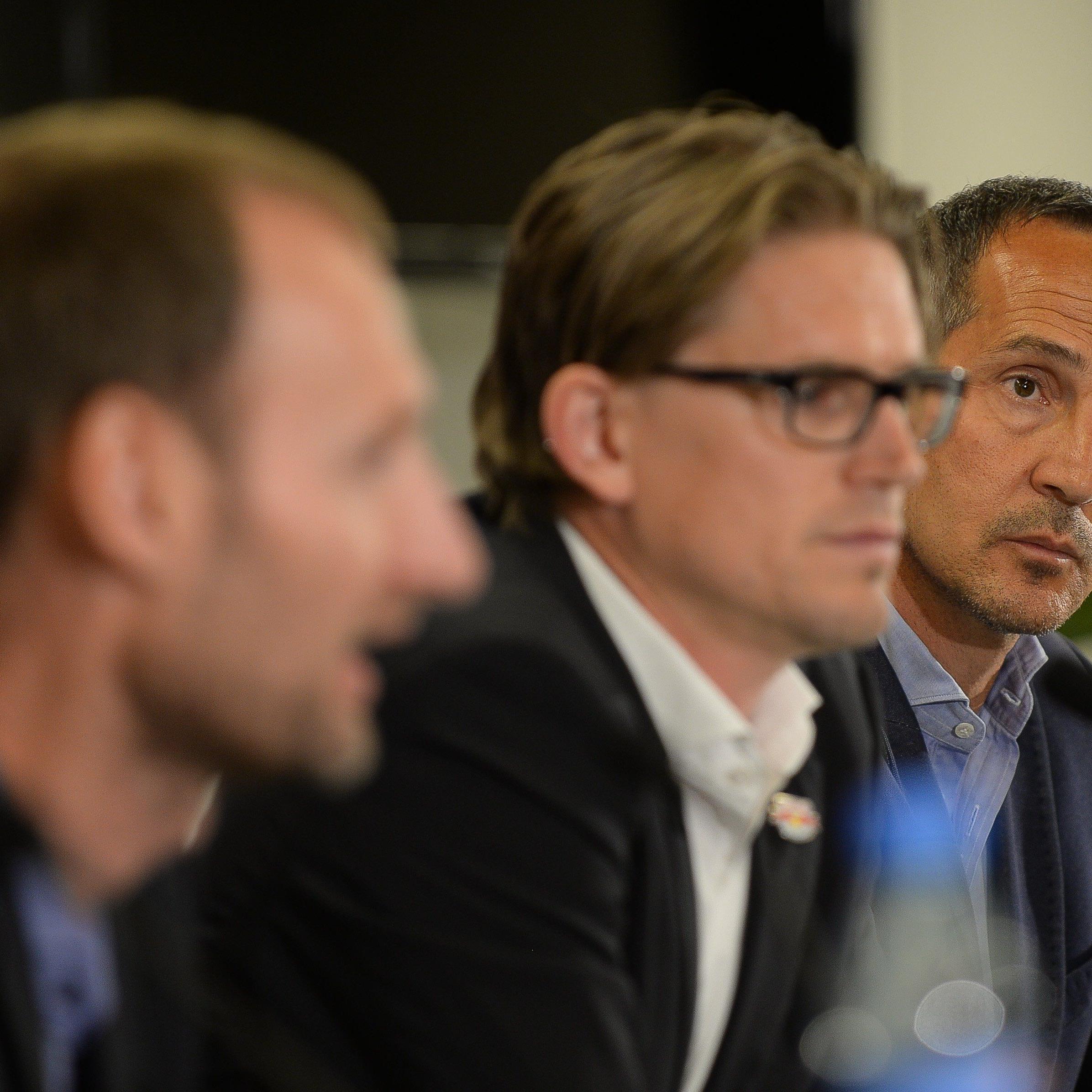 """Scheidender Salzburg-Coach hat bei Jobsuche """"keine Eile""""."""