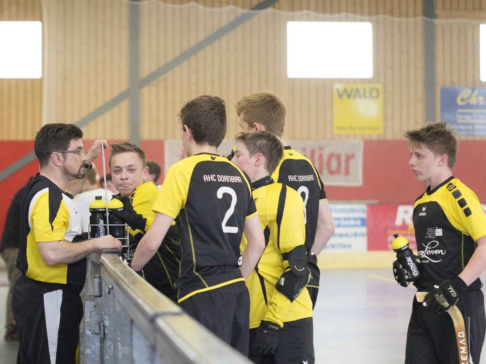 Am kommenden Wochenende findet das große Finale der Schweizer U15 Rollhockeymeisterschaft in der Dornbirner Stadthalle statt.