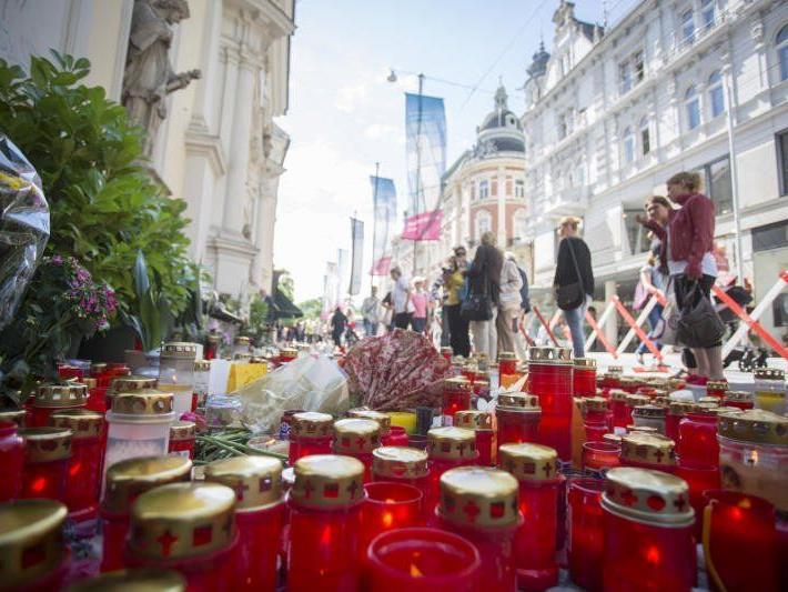 Große Trauer in Graz