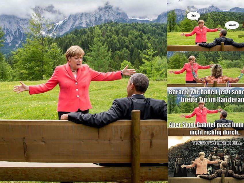 #Merkelmeme - im Netz geht es derzeit rund.