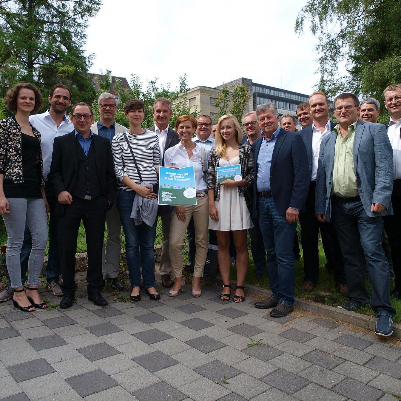 Neue Plattform will Stadt- und Ortskerne beleben.