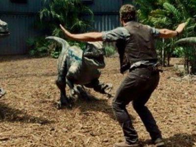 Kult-Szene in Jurassic World.