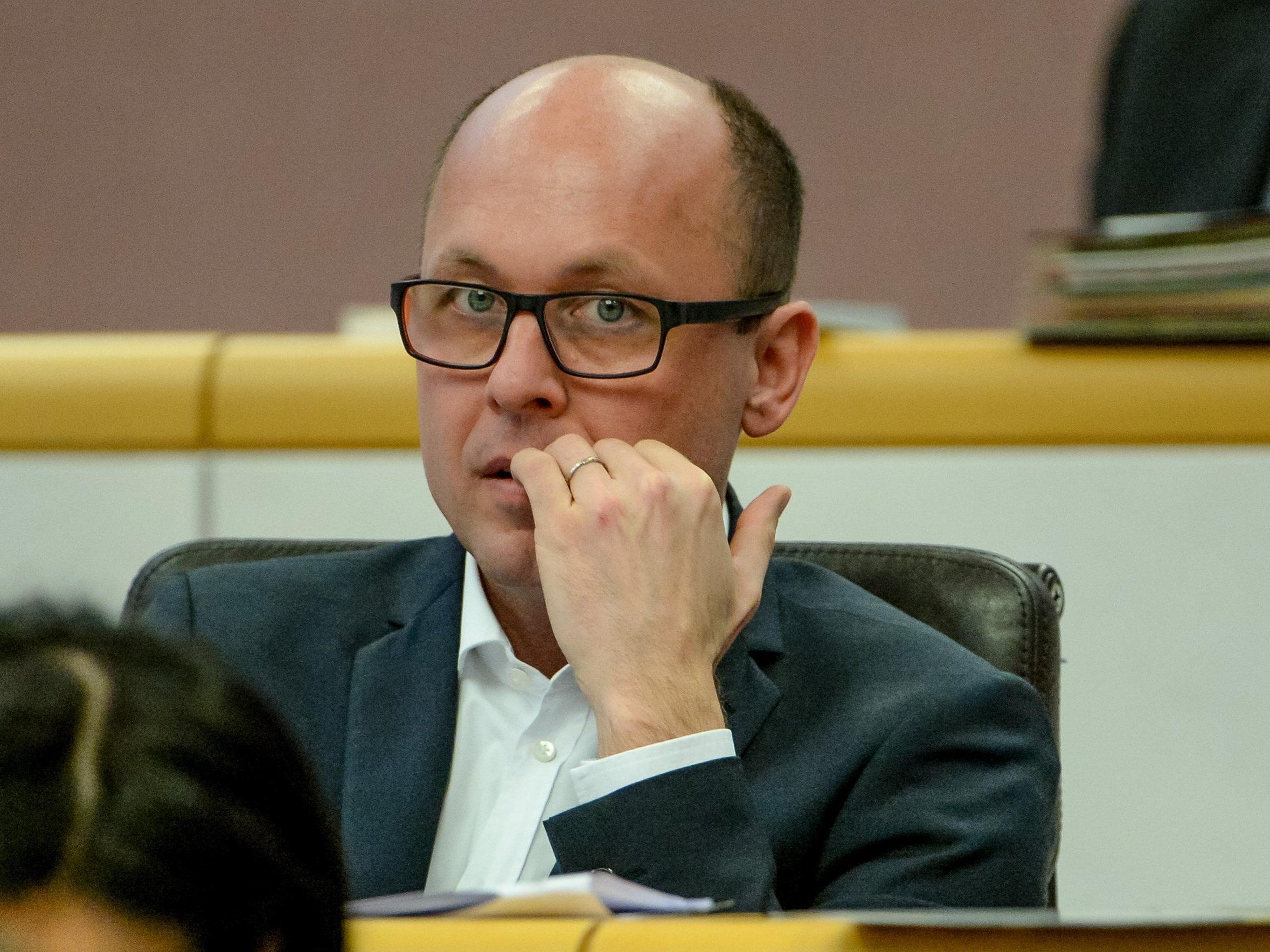 Für SPÖ-Landesparteichef Michael Ritsch stellt sich die Frage nach einer Koalition mit der FPÖ in Vorarlberg nicht.