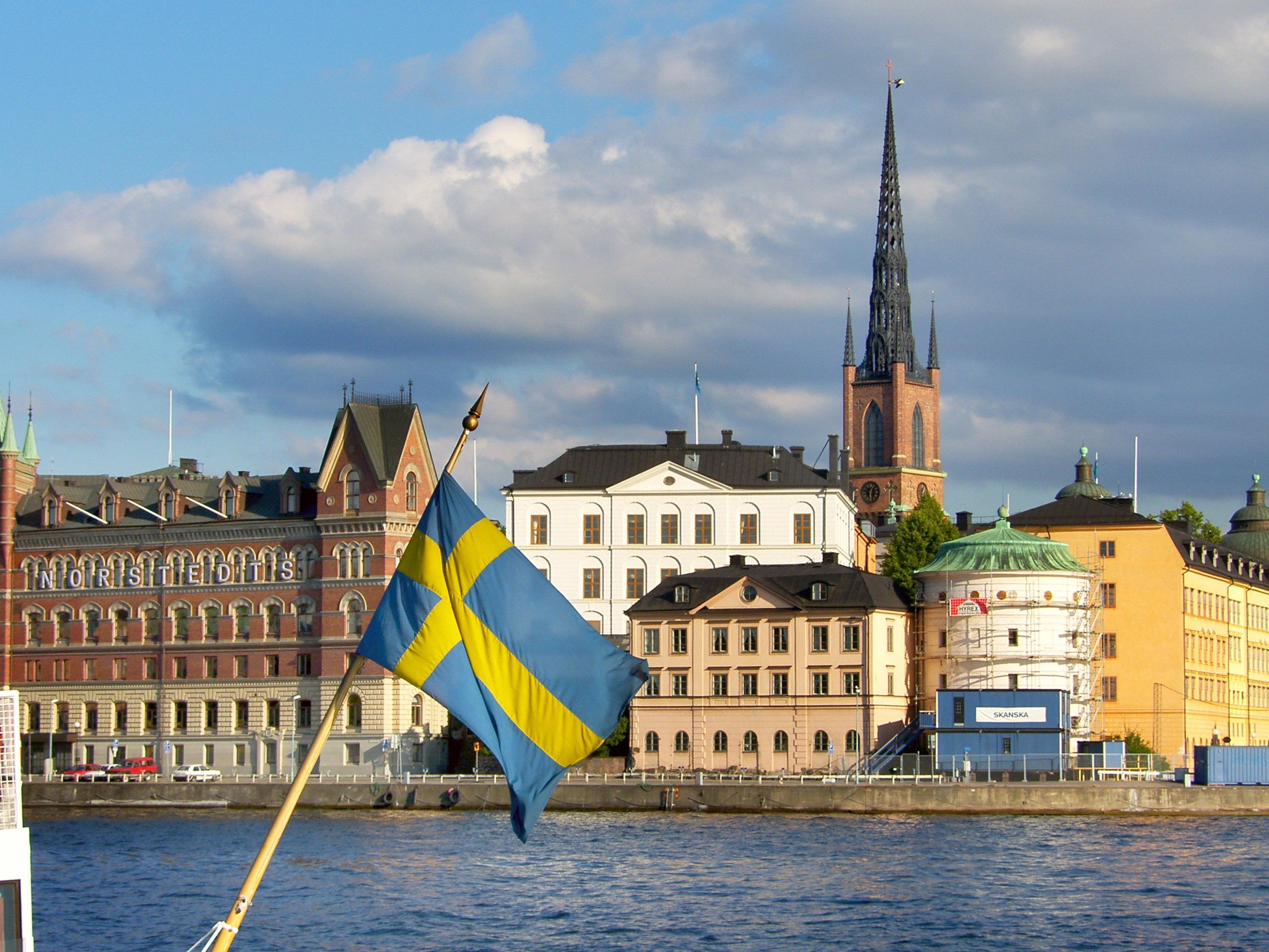 Ganze 14 Inseln hat Stockholm zu bieten.