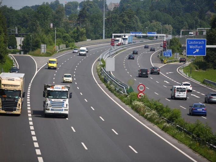 VCÖ: Wo in Vorarlberg die meisten Lkw fahren.