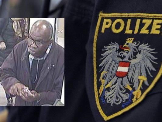 Die Polizei sucht nach einem unbekannten Mann und bittet um Hinweise.