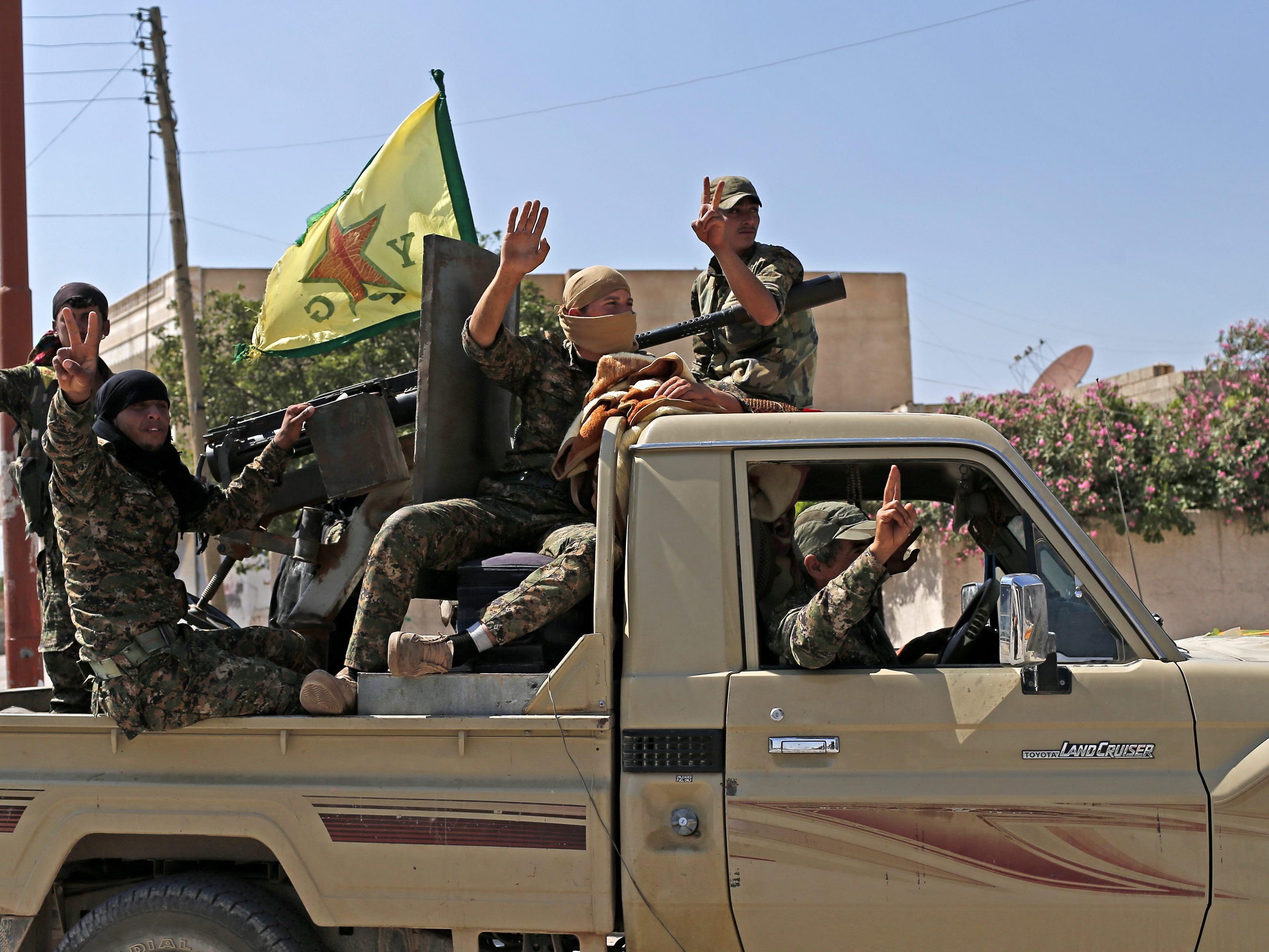 Kurden weiter auf dem Vormarsch.