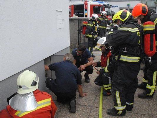 Ungewöhnlicher Kleinbrand nach Bauarbeiten in Wiener Neudorf