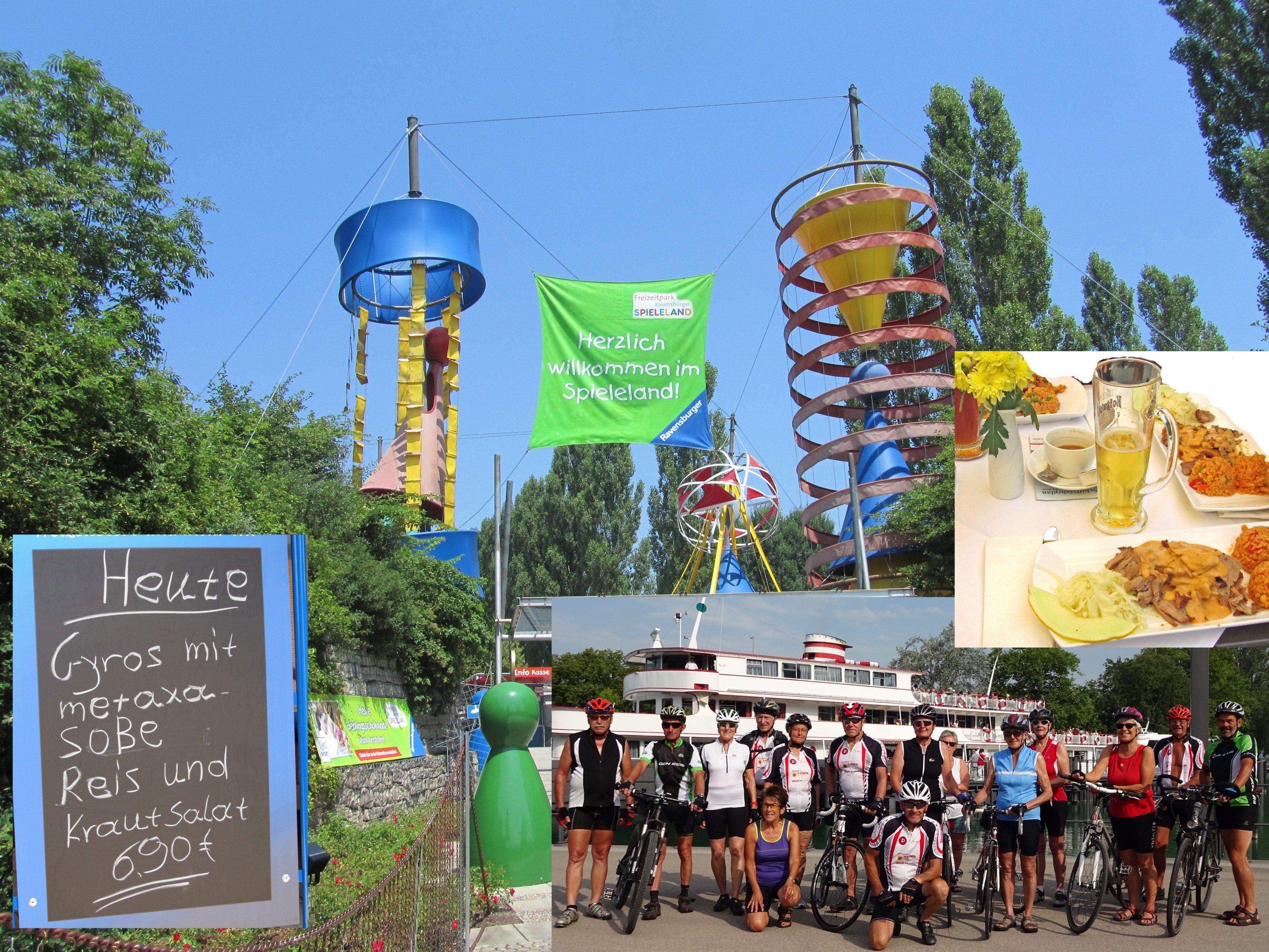 Team per pedales besucht Meckenbeuren