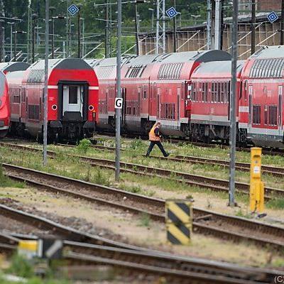 Neun Mal ließen die Lokführer die Züge stehen