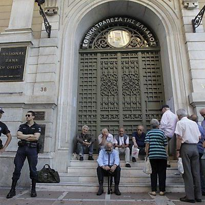 Am Montag sollen die Banken wieder öffnen