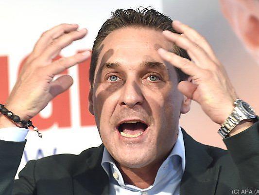 Streit um Foto zwischen Kurier und FPÖ-Chef Strache