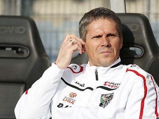 Kühbauer will volle Konzentration auf Soligorsk-Match