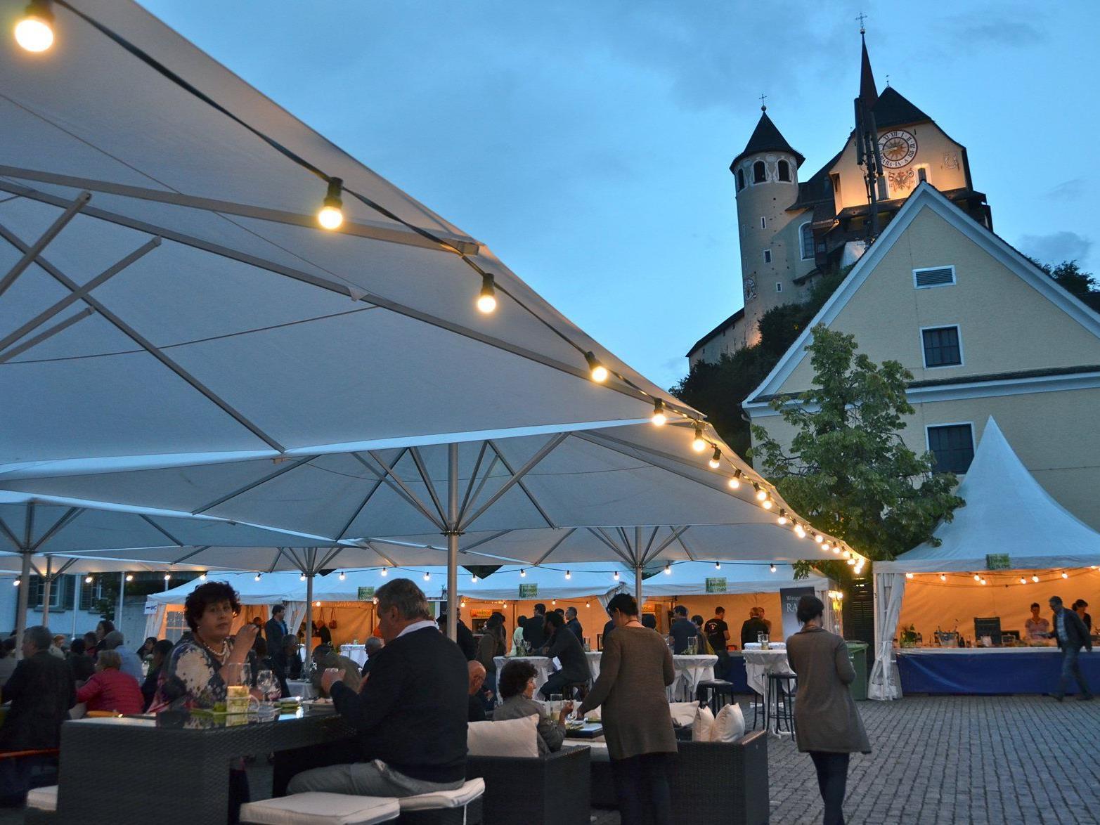 Von 16. bis 18. Juli steht Rankweil im Zeichen von Wein, Musik und Kulinarik.