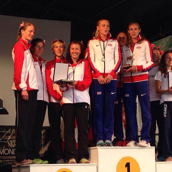 Sabine Reiner wird mit dem Nationalteam Zweite und gewinnt Silber
