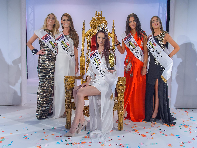 Annika aus Oberösterreich ist die neue Miss Austria 2015.