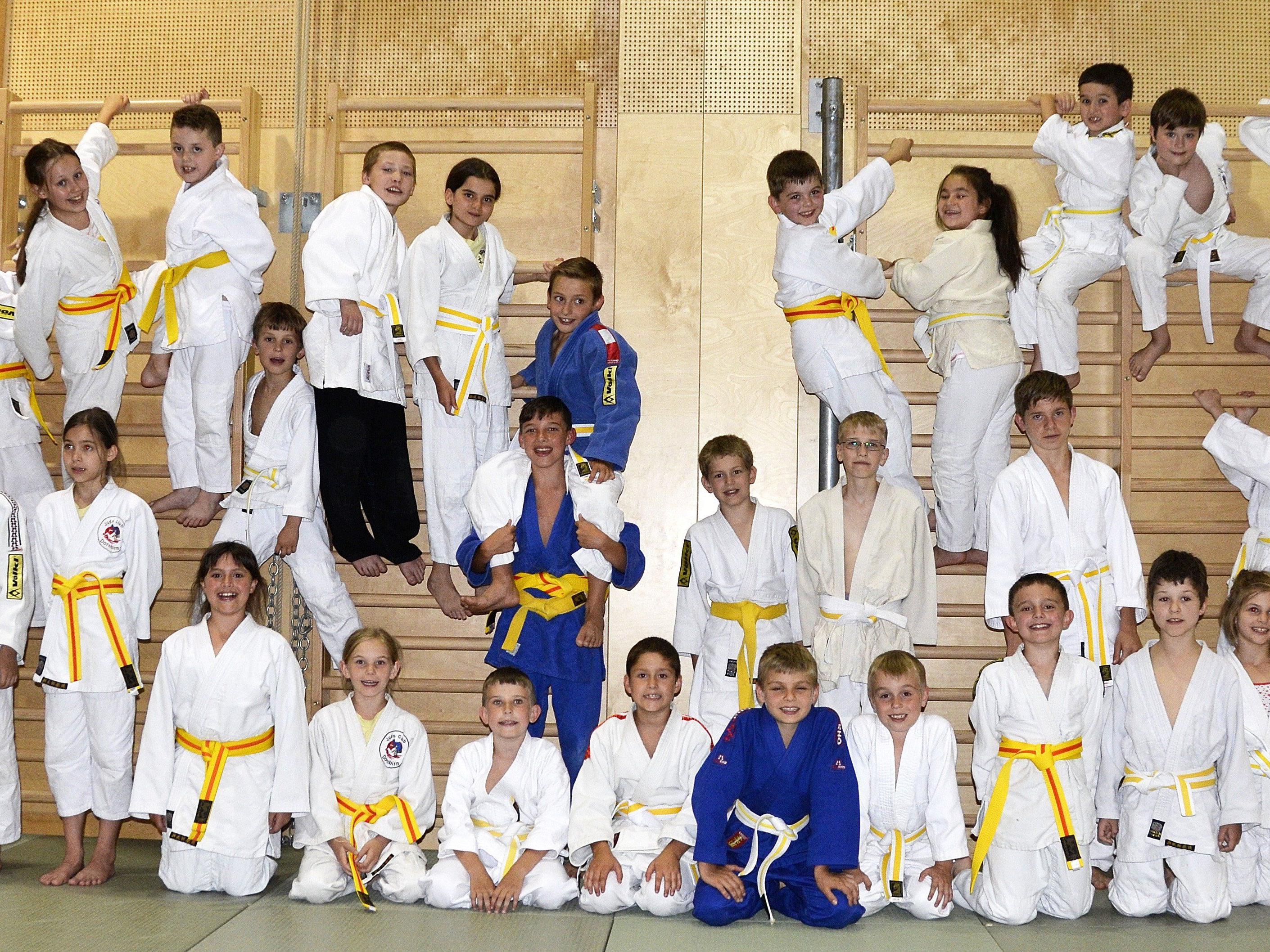 Der Judoclub Dornbirn ist stolz auf seinen erfolgreichen Nachwuchs.
