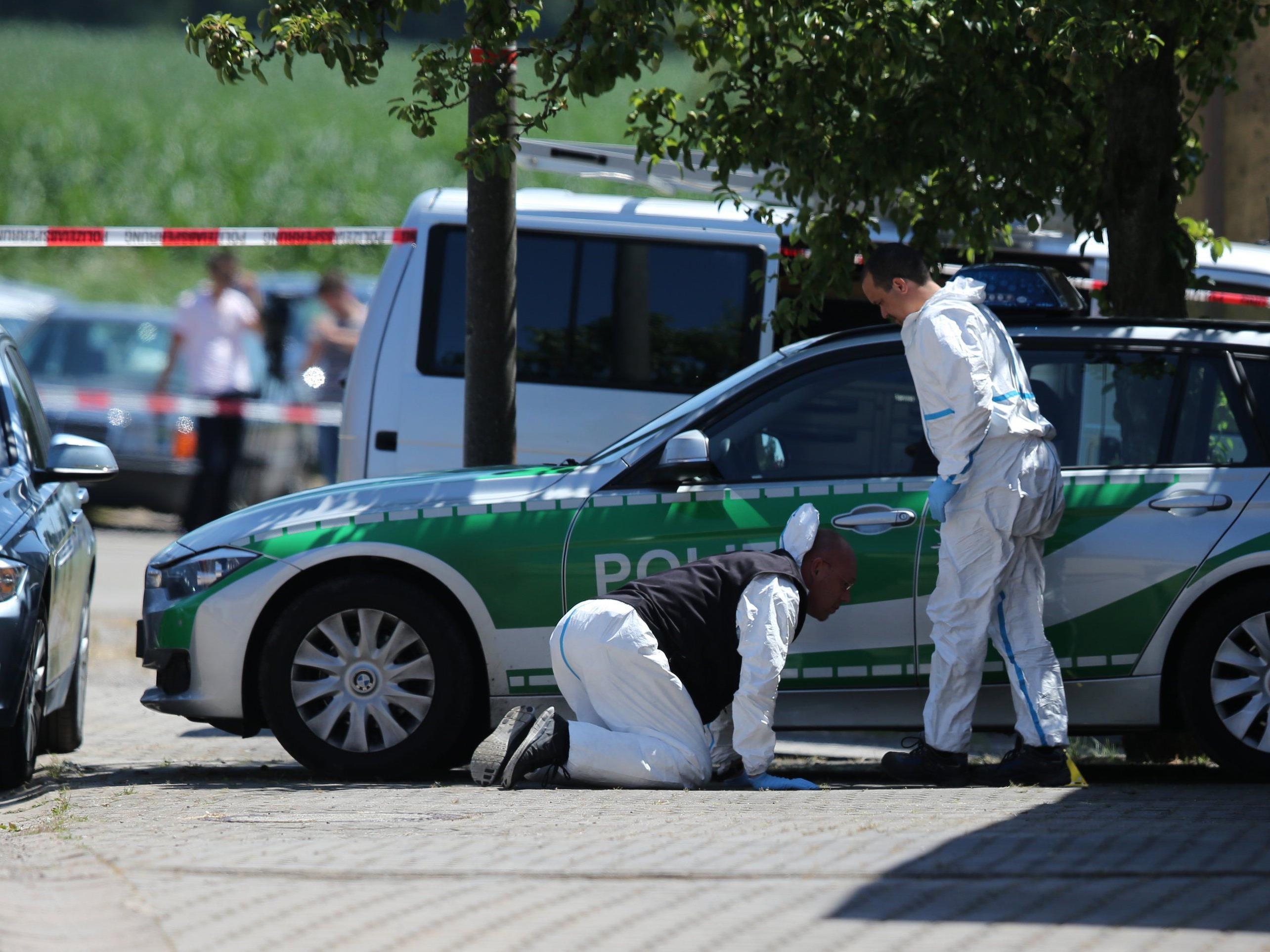 Amoklauf in Bayern: Autofahrer erschoss zwei Menschen - Festnahme.