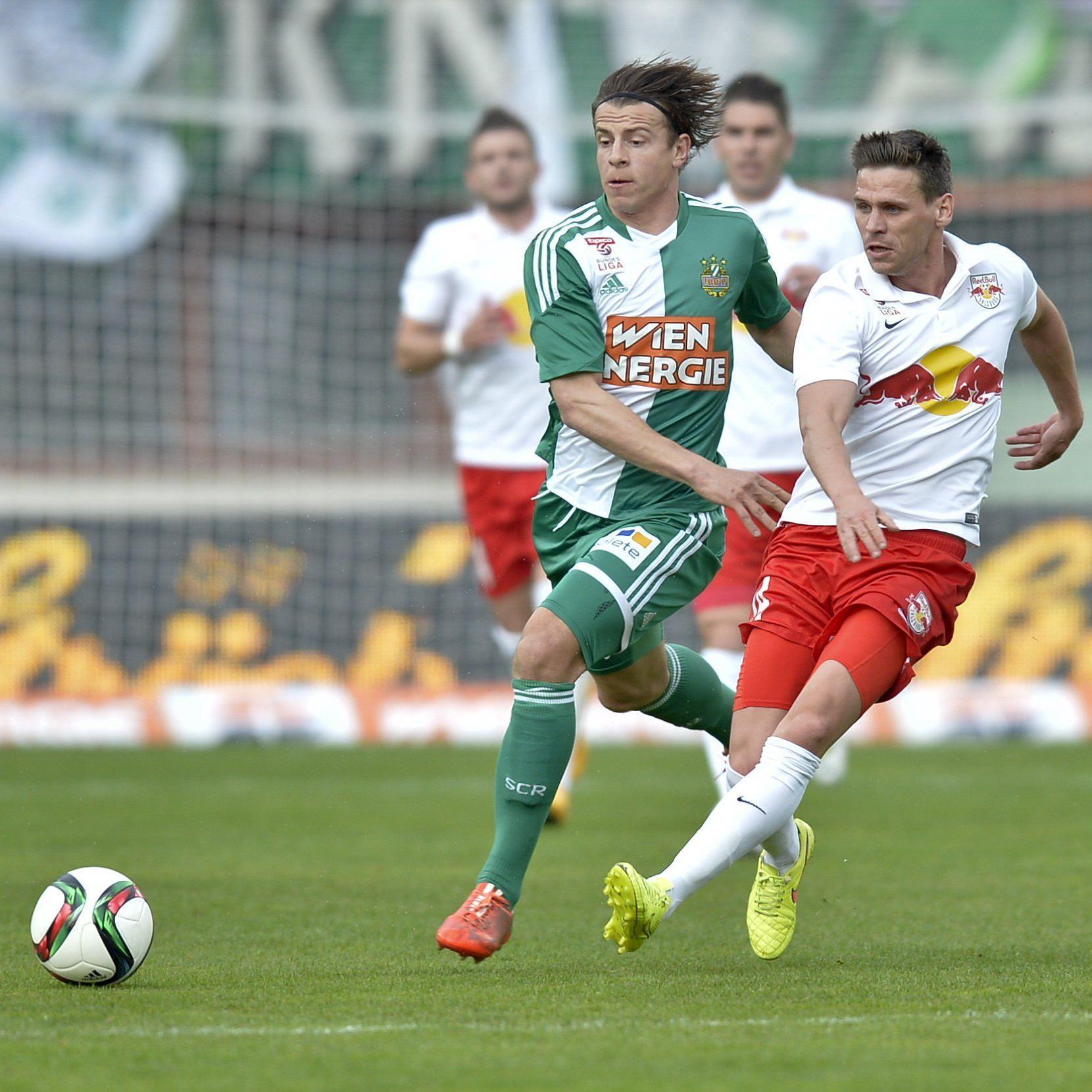 LIVE-Ticker zum Spiel Red BUll Salzburg gegen SK Rapid WIen ab 16.00 Uhr.