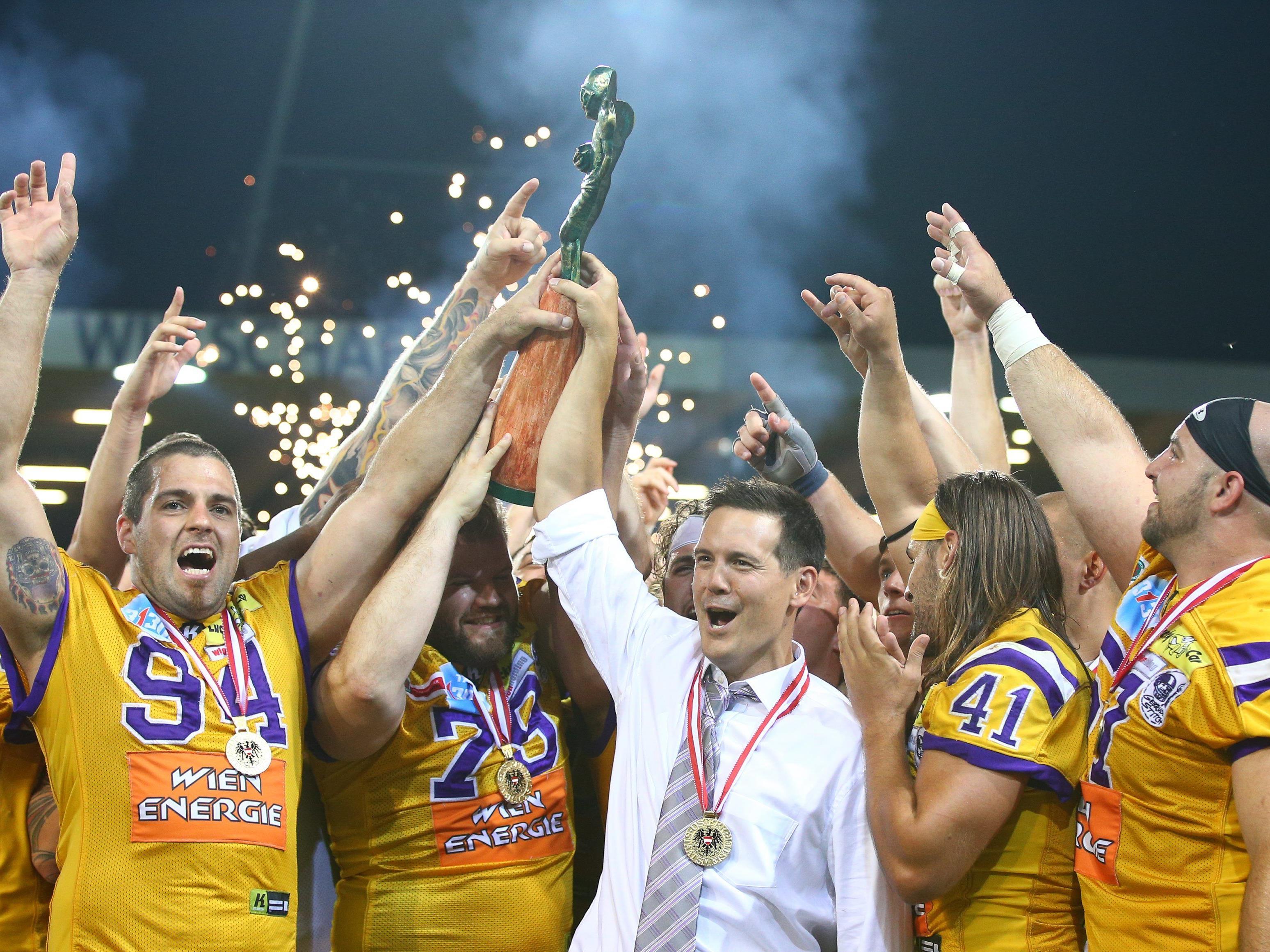 Die Vienna Vikings legen den Fokus auf den vierten Titelgewinn in Folge.