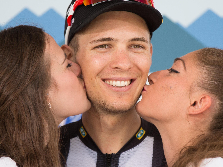 Johann Van Zyl gewann die Hochgeschwindigkeitsetappe.