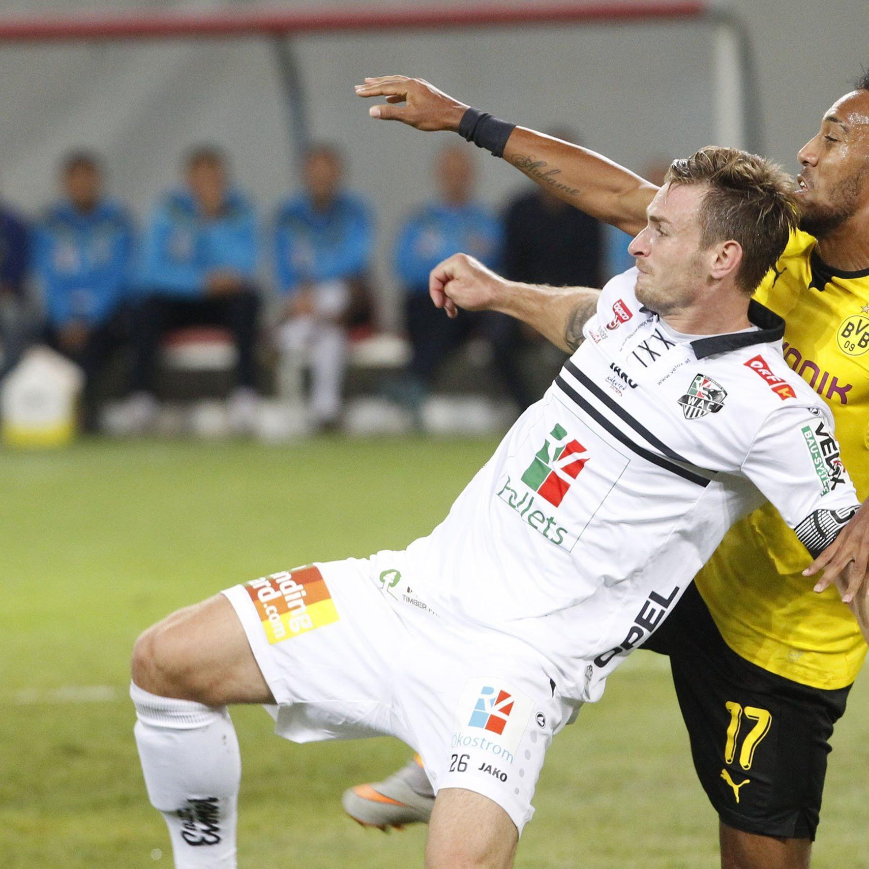 Der WAC präsentierte sich stark im Duell mit dBorussia Dortmund in der EL-Qualifikation.