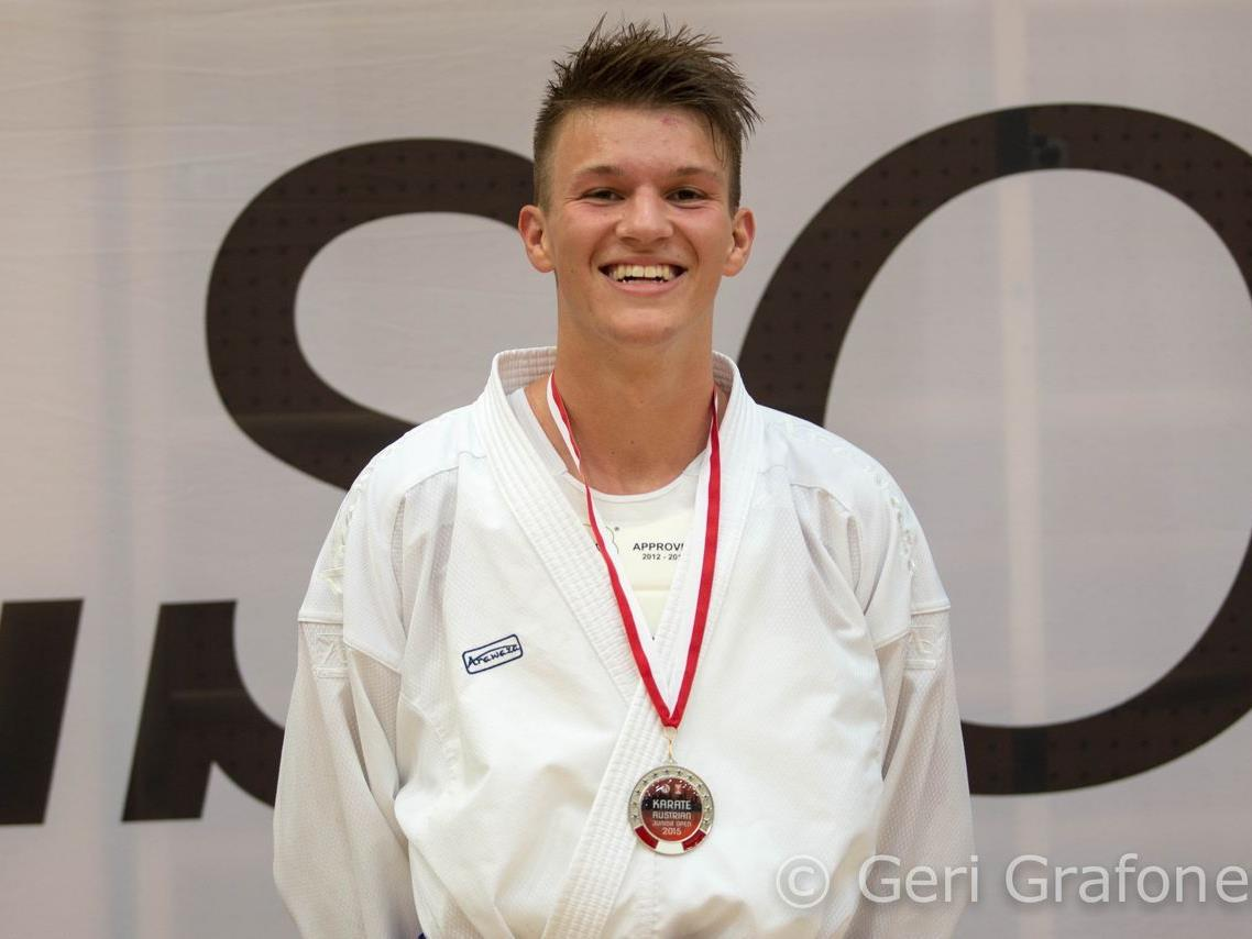 Andre Gratzer, Platz beim Int. Junior Open