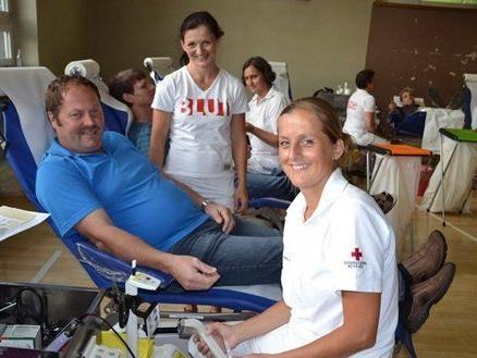 Die Blutspendeaktion findet dieses Jahr bereits zum 25. Mal statt.