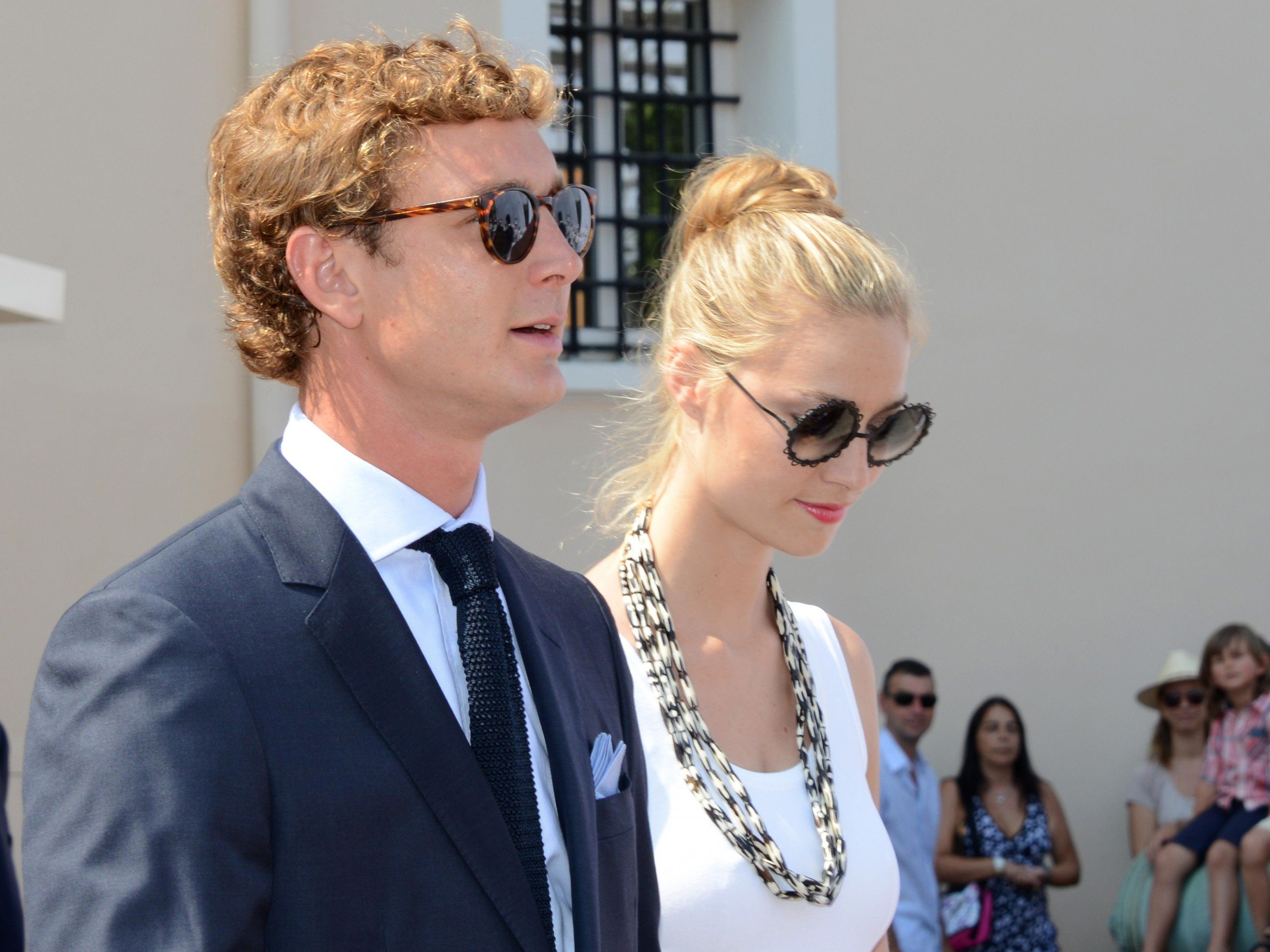 Carolines Sohn Pierre Casiraghi heiratet italienische Adelige