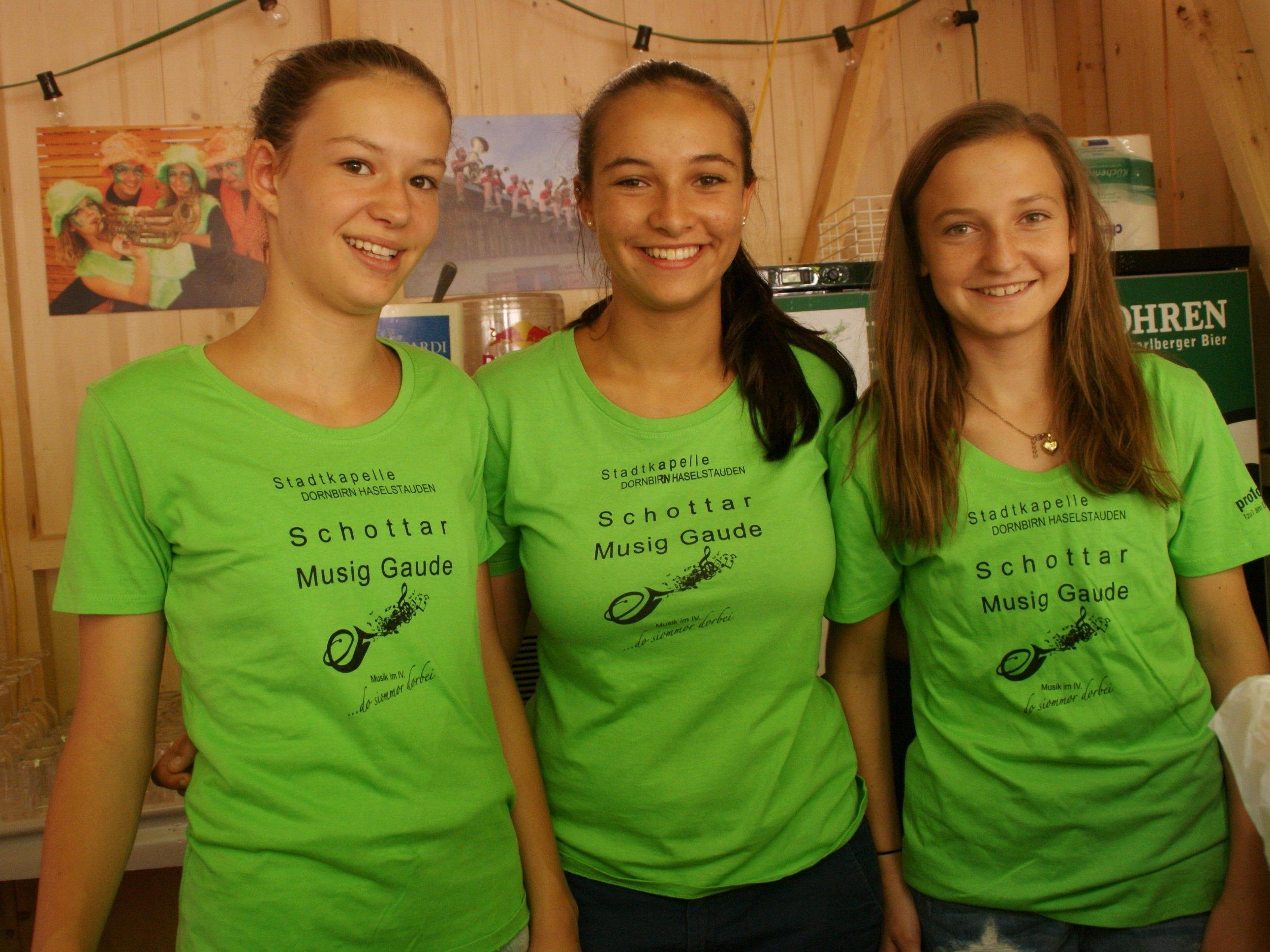 v.li. Anna, Julia, Annika