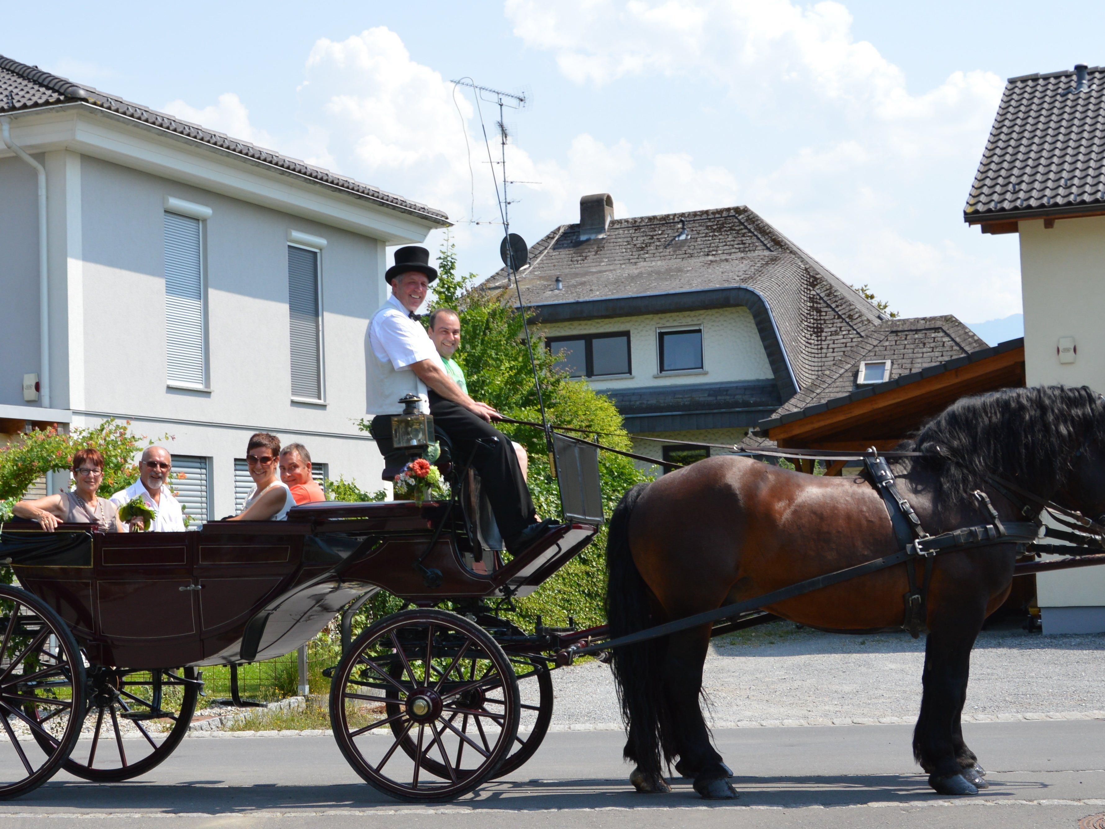 überraschung Zur Goldenen Hochzeit Lustenau Volat