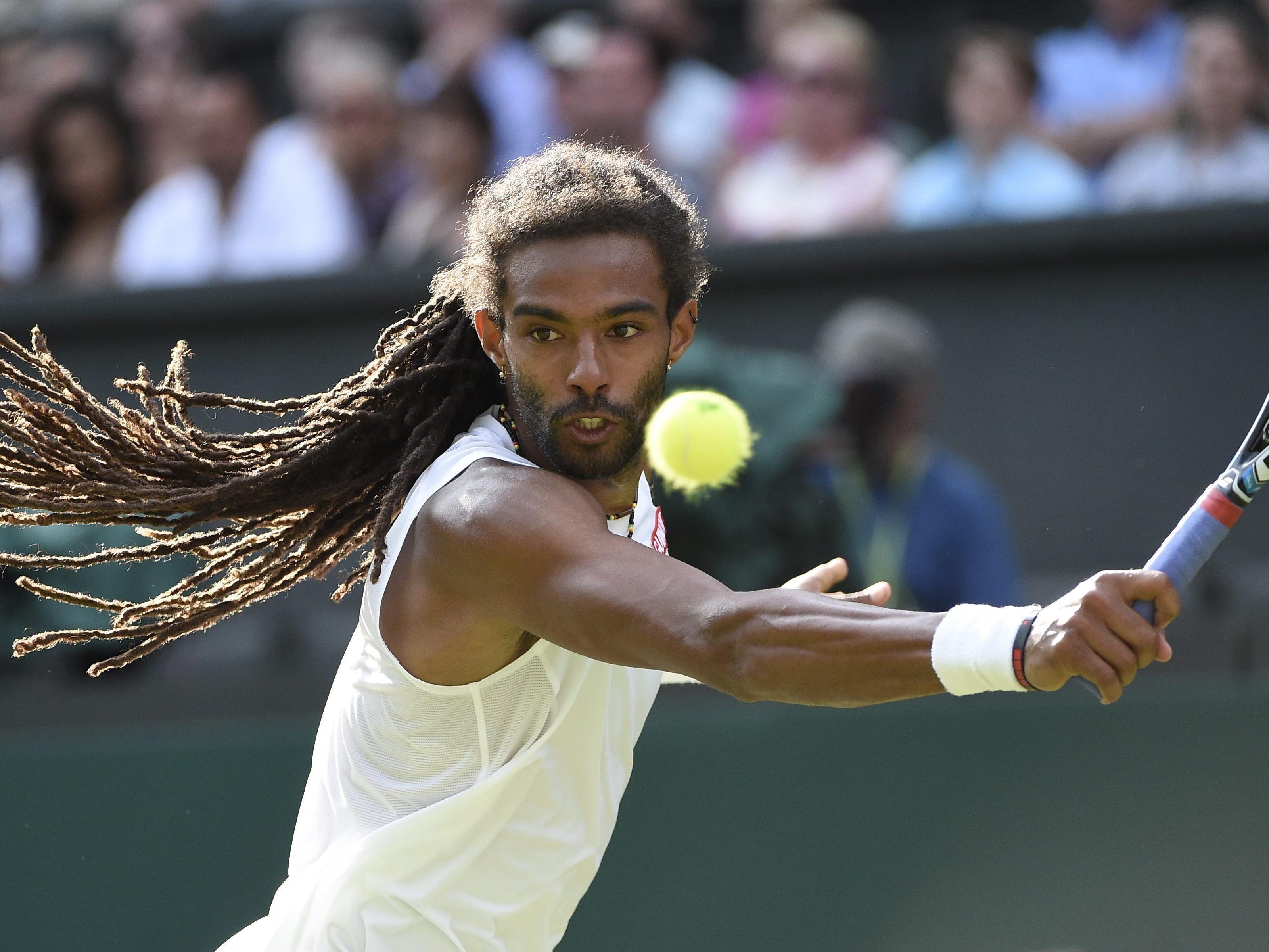 """Der """"Rasta Man"""" hat gegen Nadal das Genie auf den Platz gelassen."""