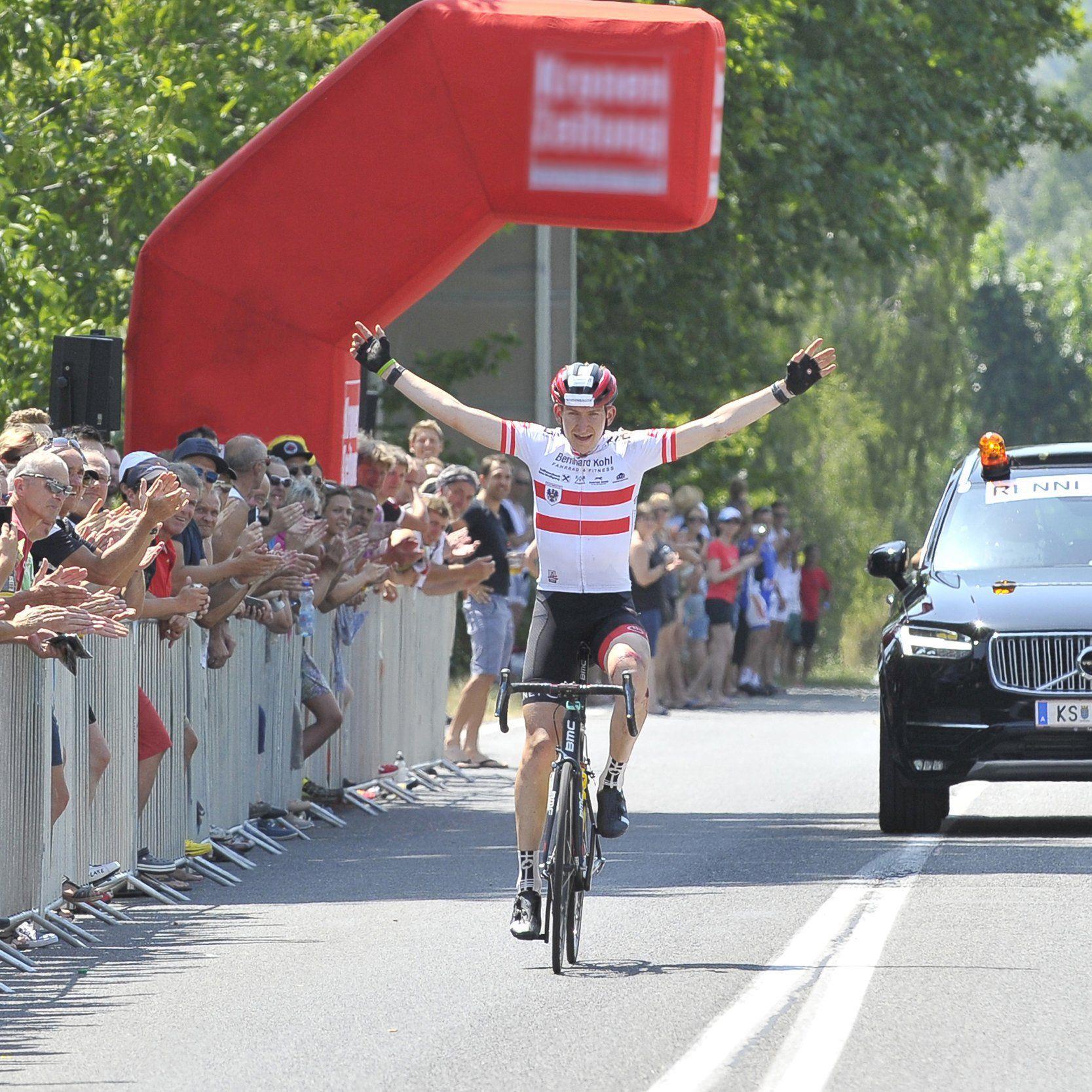 Radmarathon Staatsmeister Markus Feyerer will seinen Titel im Ländle verteidigen