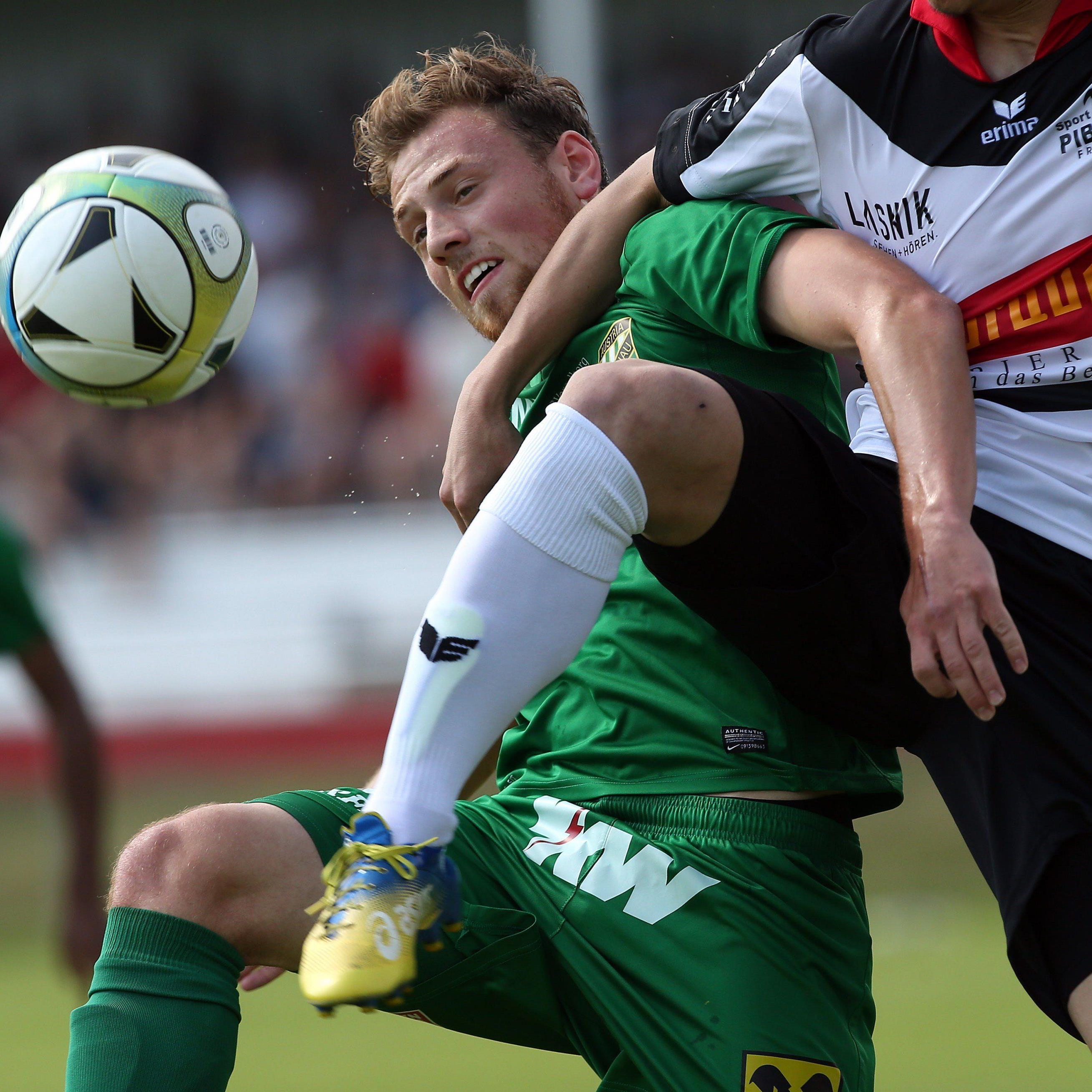 Die Austria zog beim FC Lankowitz den Kürzeren.
