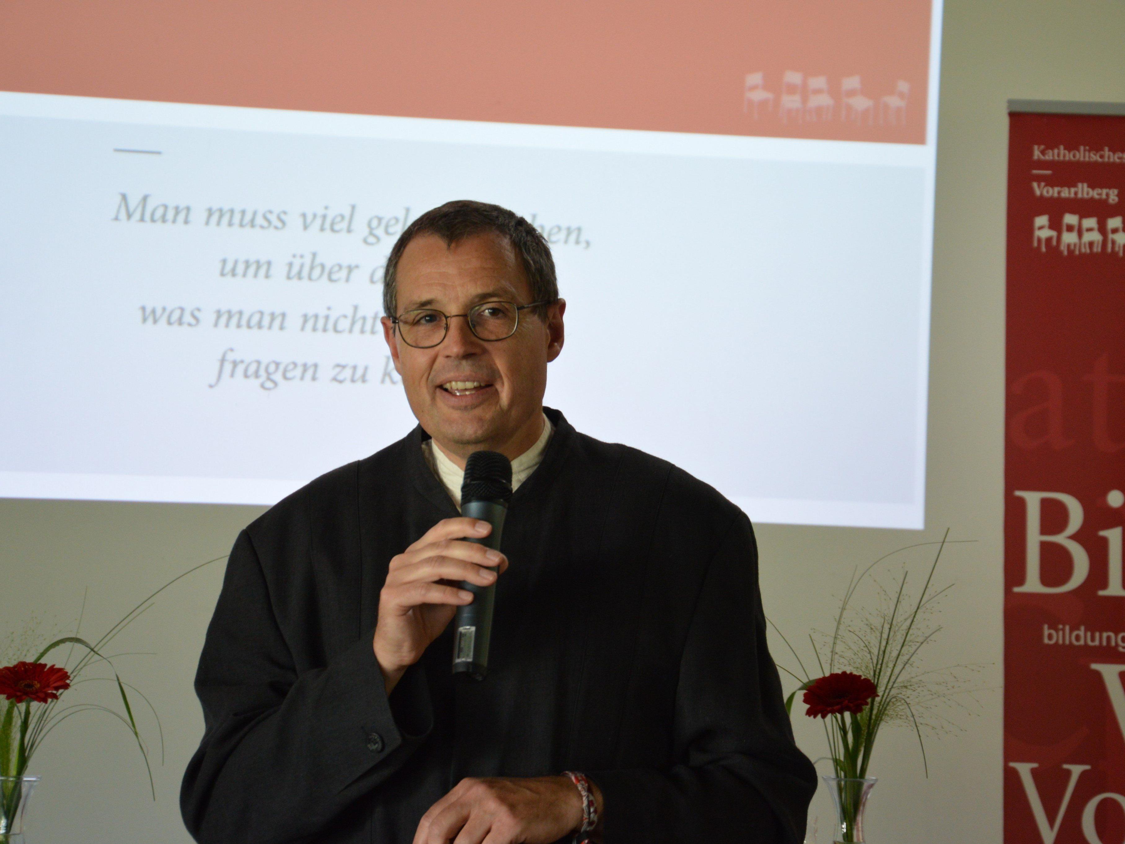 ARGE Vorsitzender Dr. Hans Rapp.