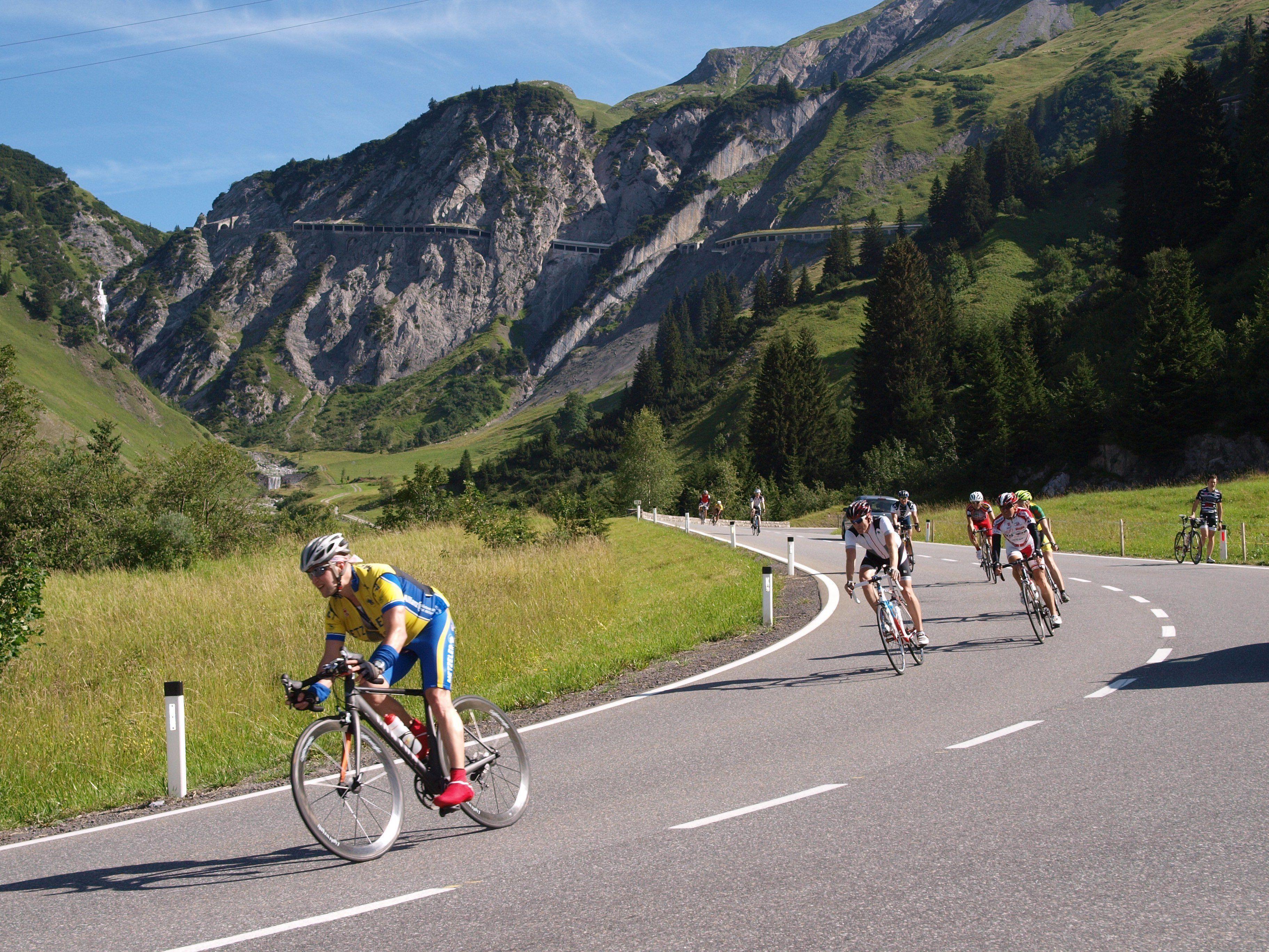 Der Highlander Radmarathon wird am Arlberg neutralisiert